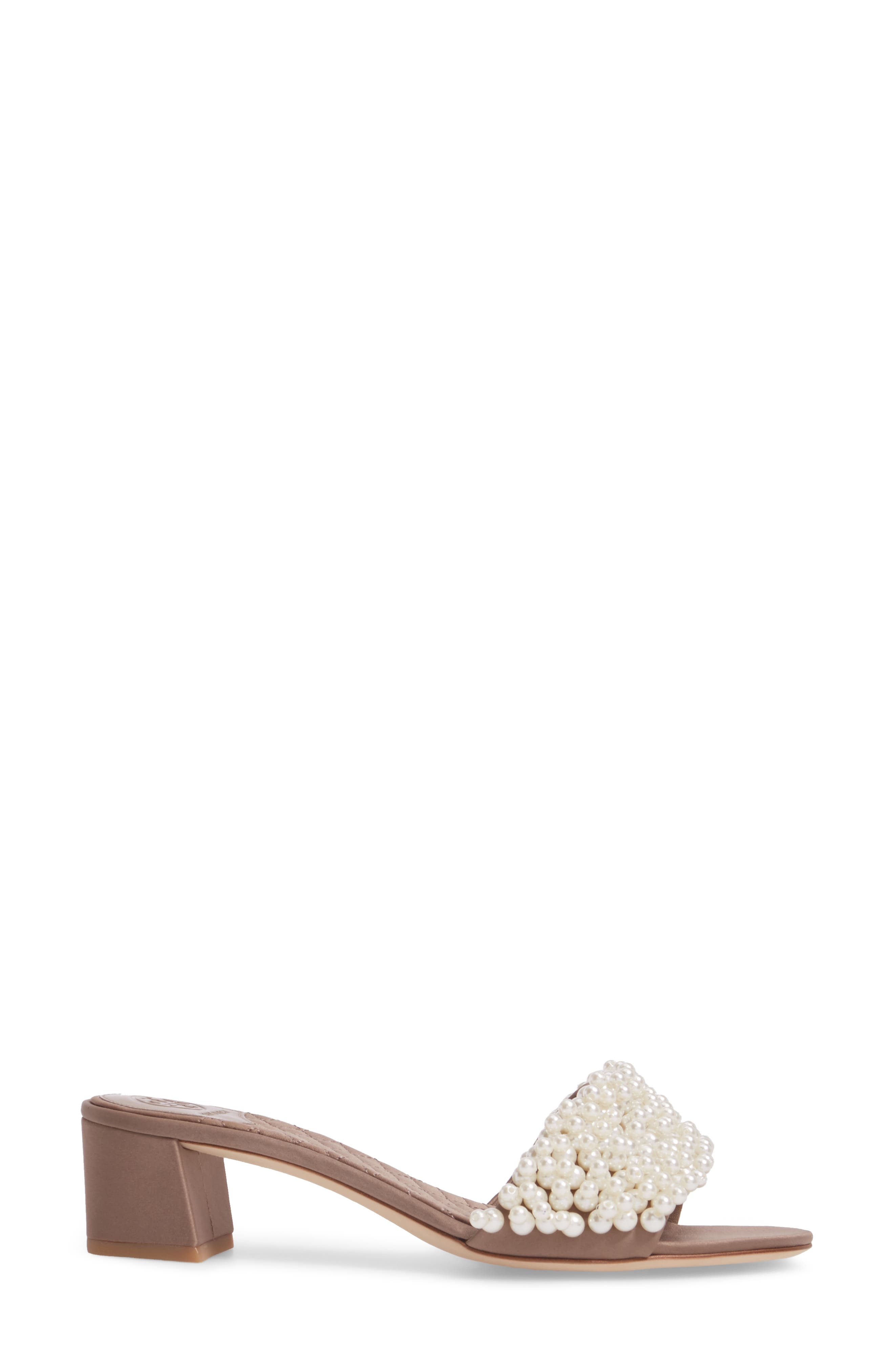 Tatiana Slide Sandal,                             Alternate thumbnail 3, color,                             Dust Storm