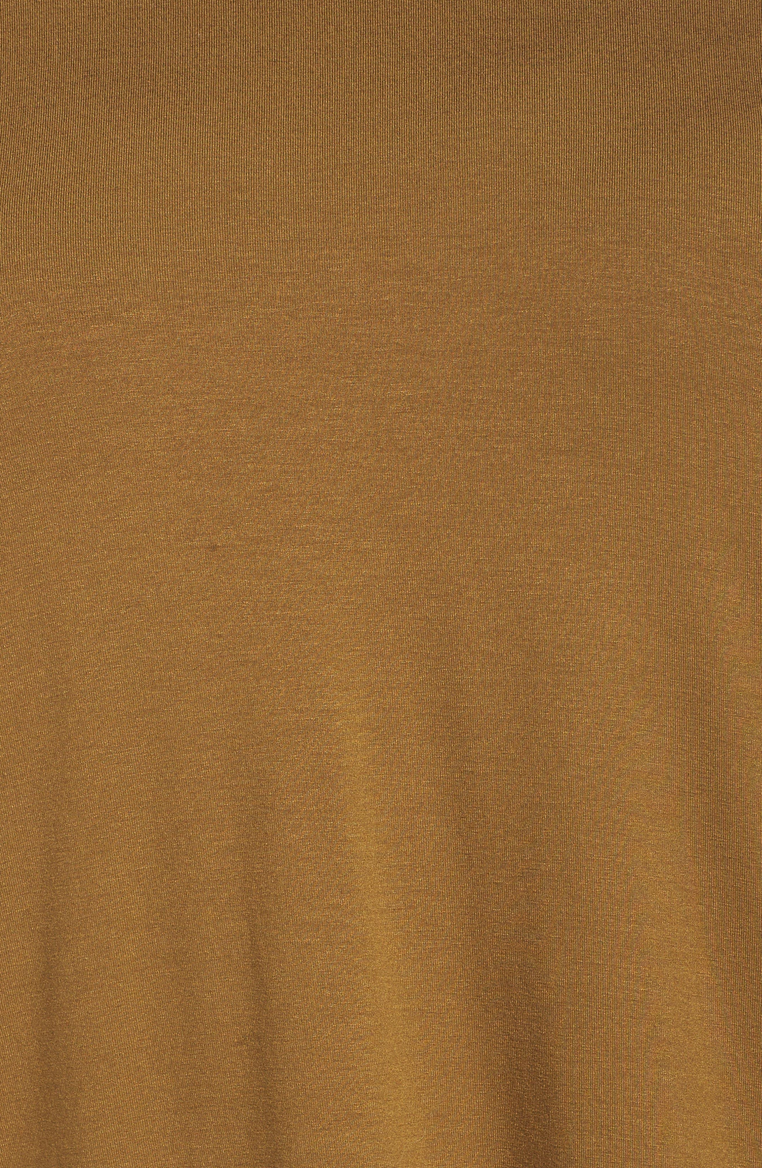 Alternate Image 5  - Eileen Fisher Round Neck Jersey Tunic (Plus Size)