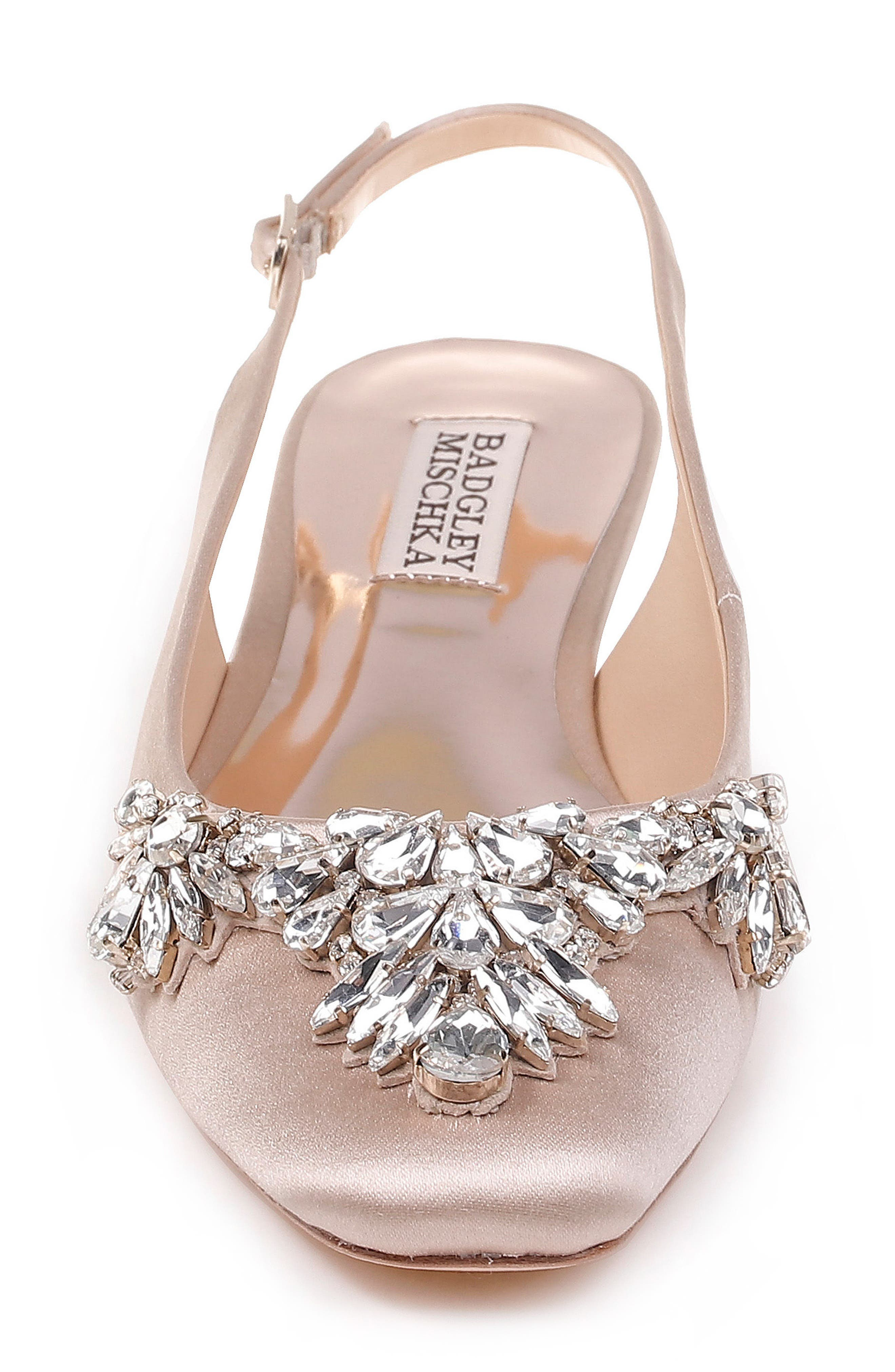 Alternate Image 4  - Badgley Mischka Shayla Slingback Flat (Women)