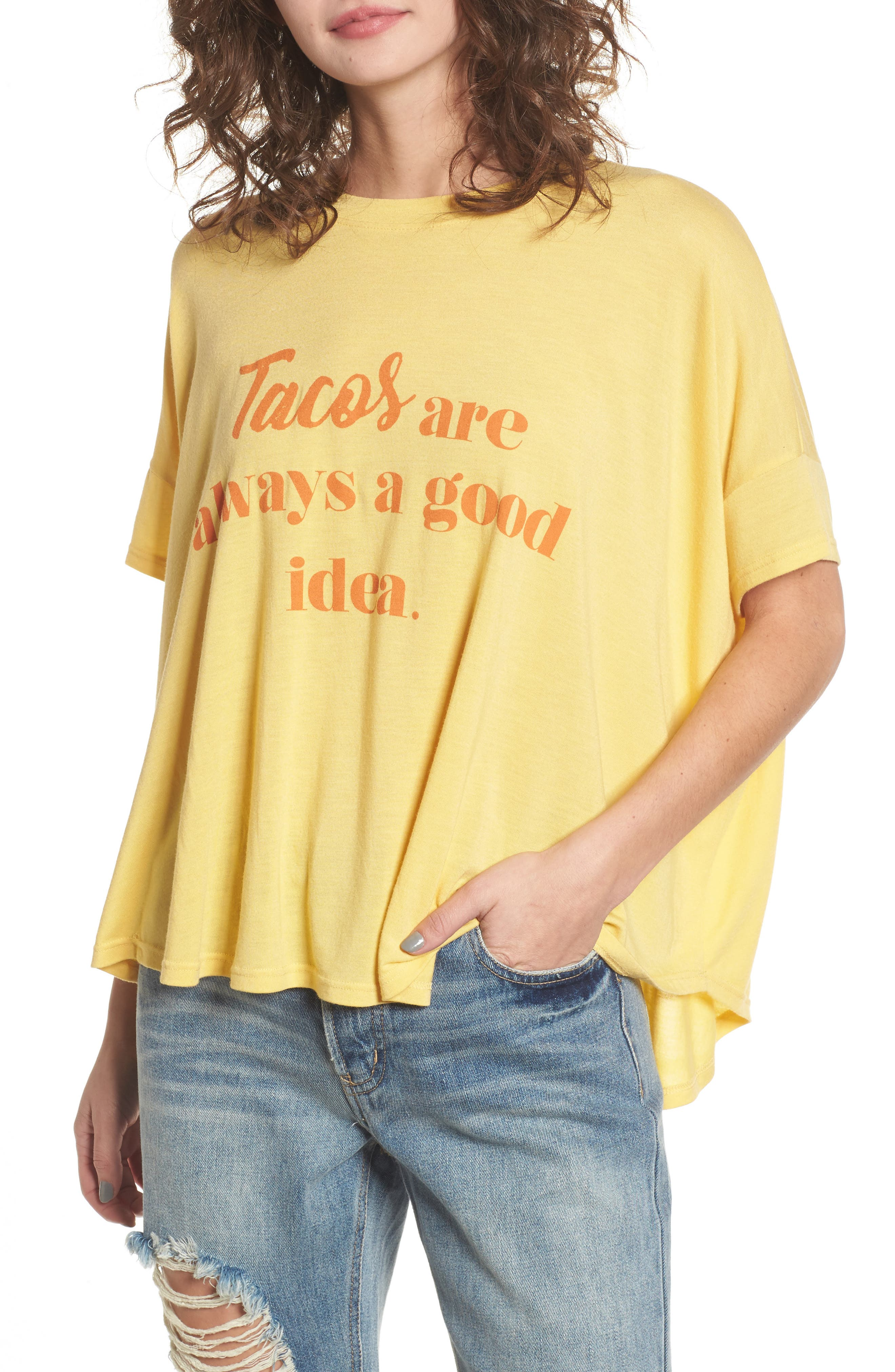 Emerson Tee,                         Main,                         color, Tacos Always