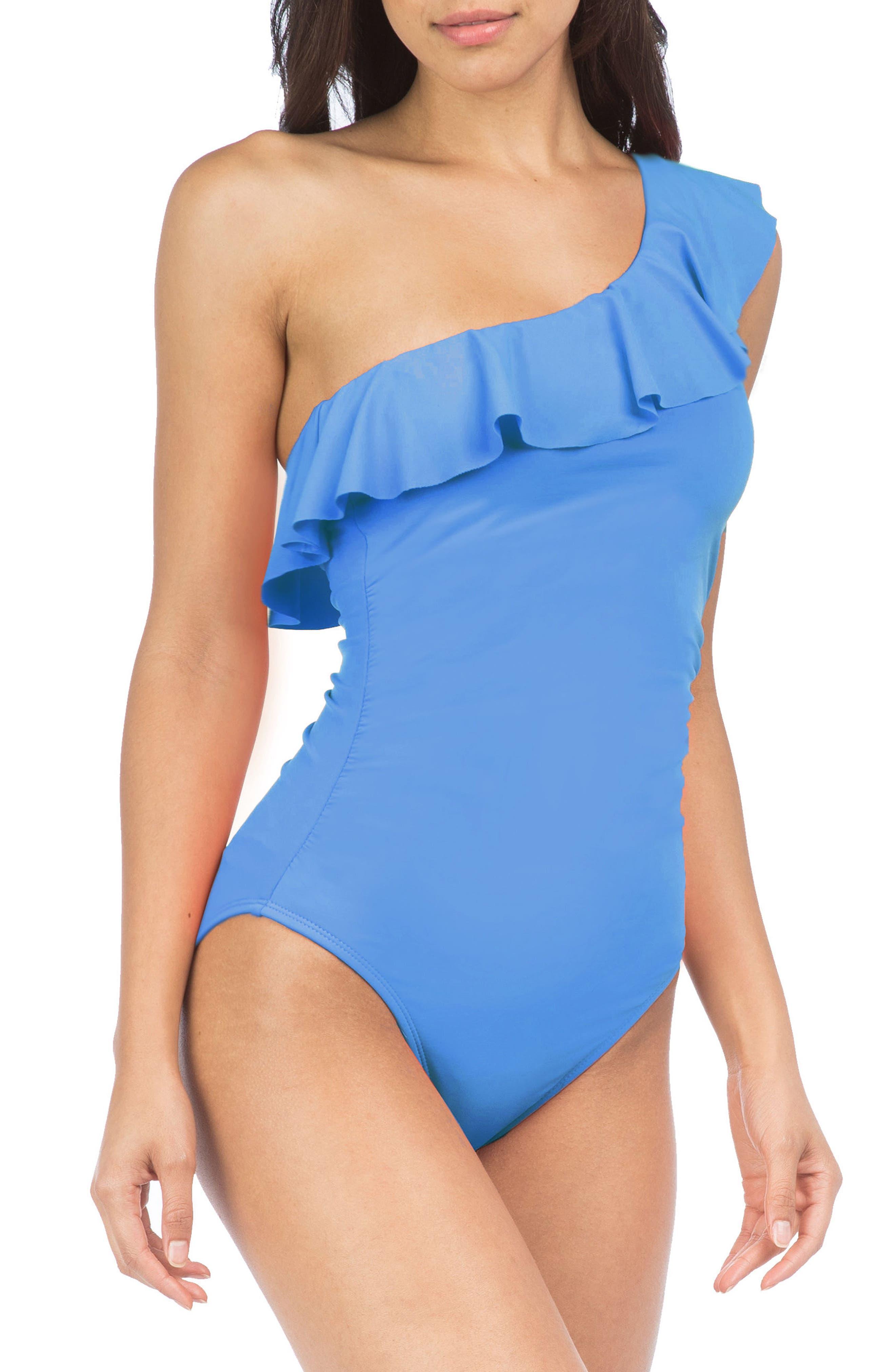 Alternate Image 1 Selected - La Blanca Flirtatious One-Piece Swimsuit
