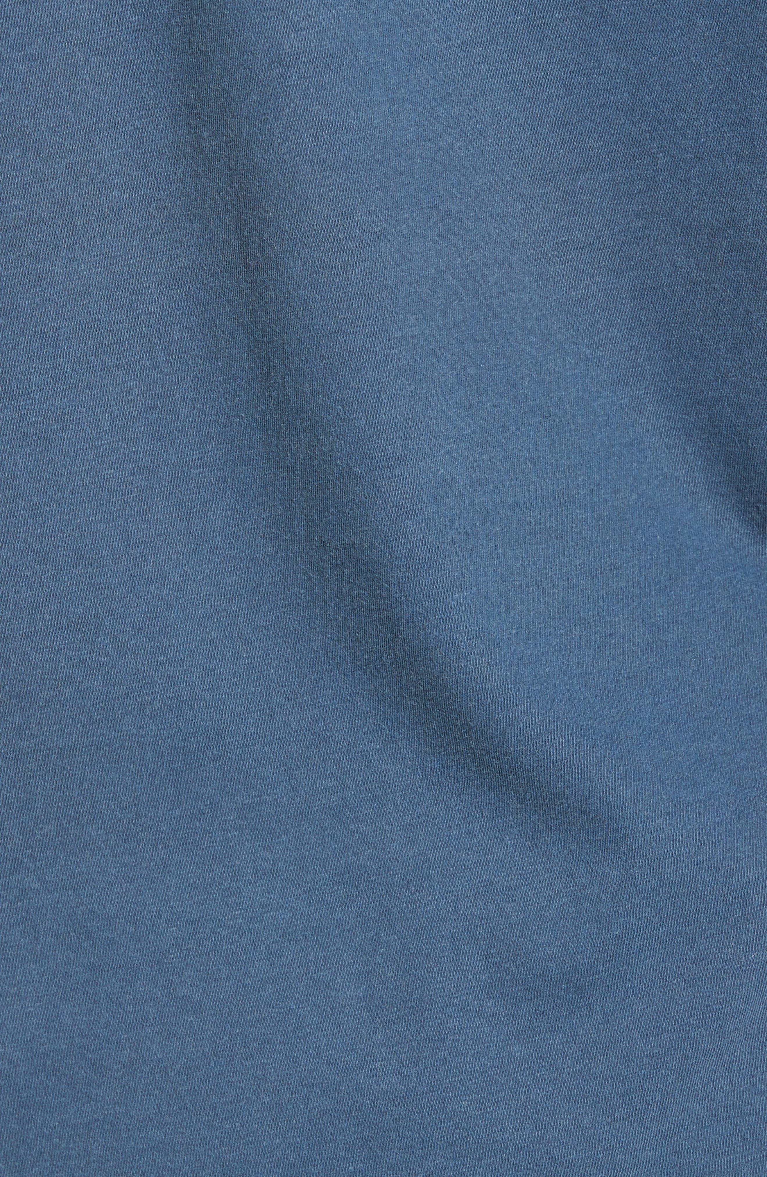 Never Not Having Fun Graphic T-Shirt,                             Alternate thumbnail 5, color,                             Dark Denim