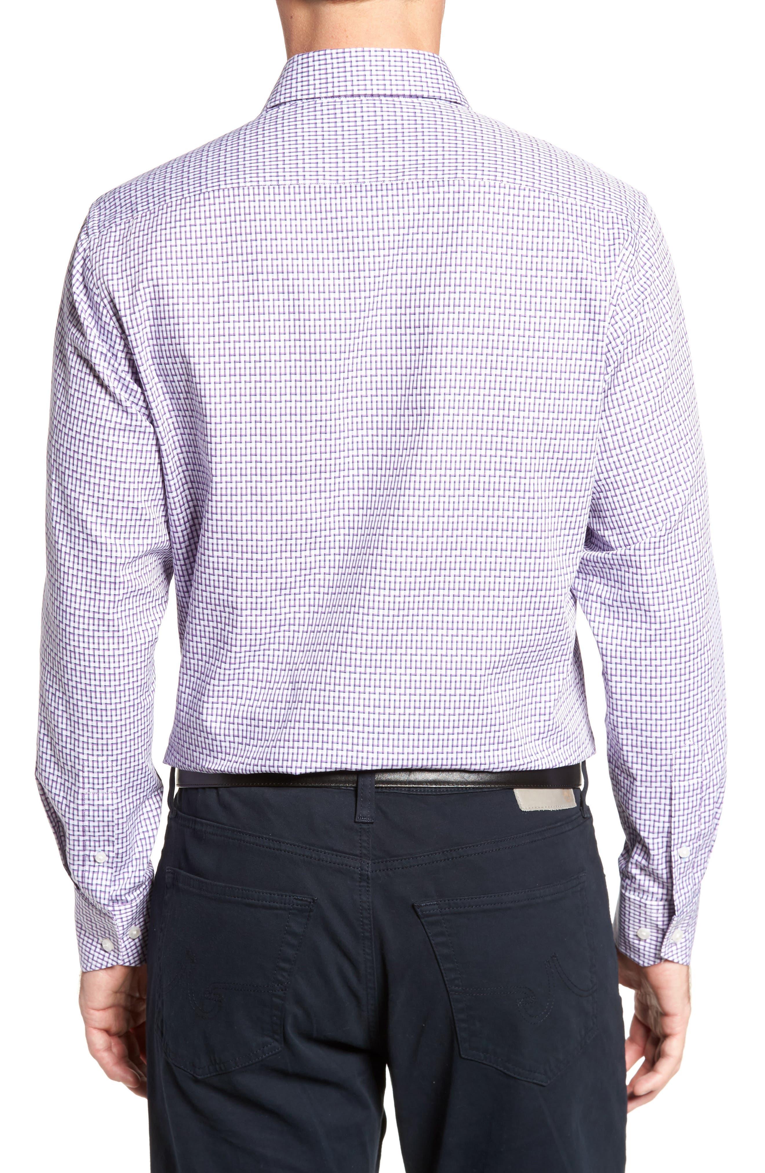 Alternate Image 2  - Tailorbyrd Pineville Print Sport Shirt