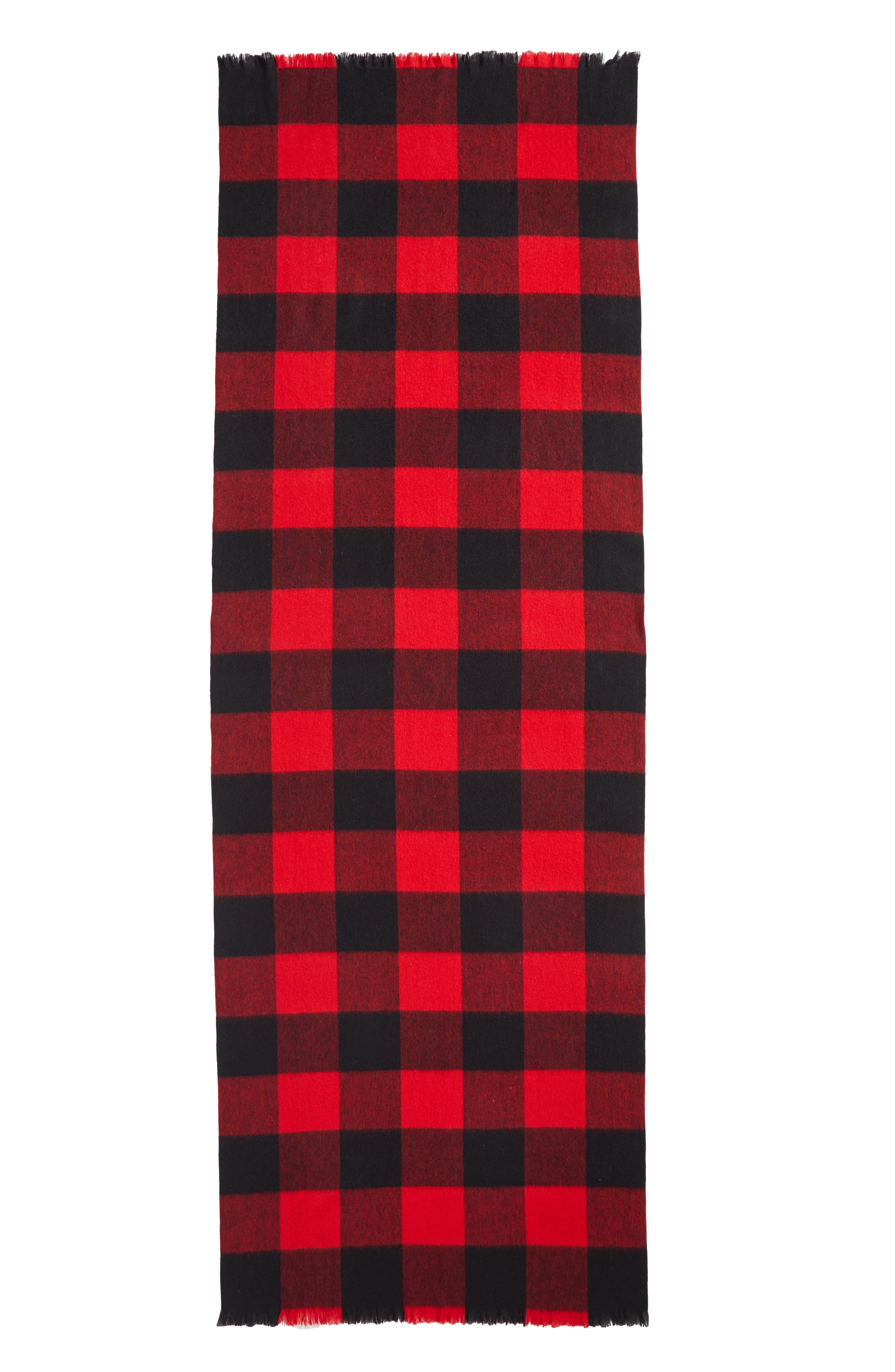 Alternate Image 3  - kate spade new york mega check wool scarf