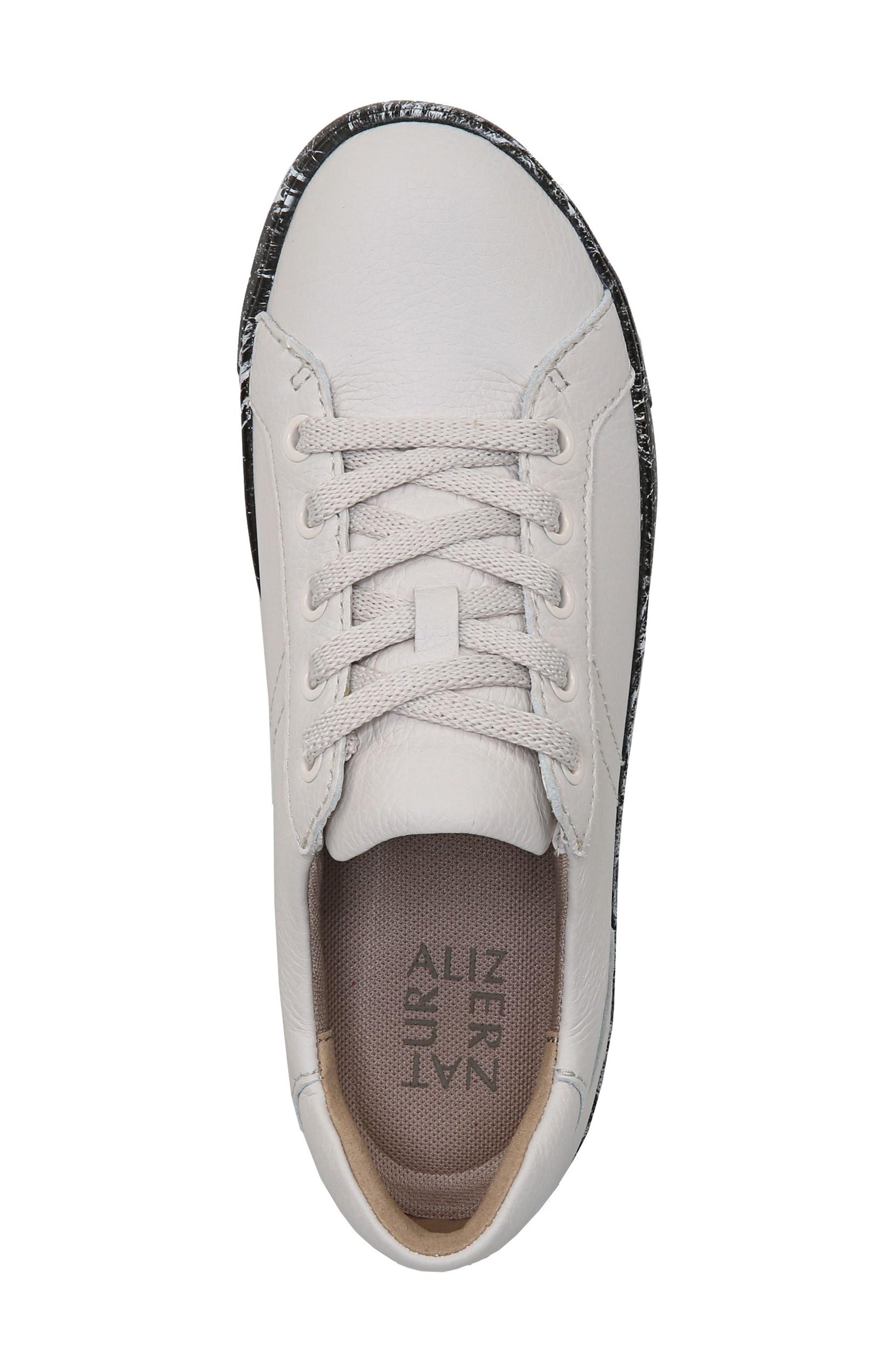 Morrison Sneaker,                             Alternate thumbnail 6, color,                             Beige Pebble Leather