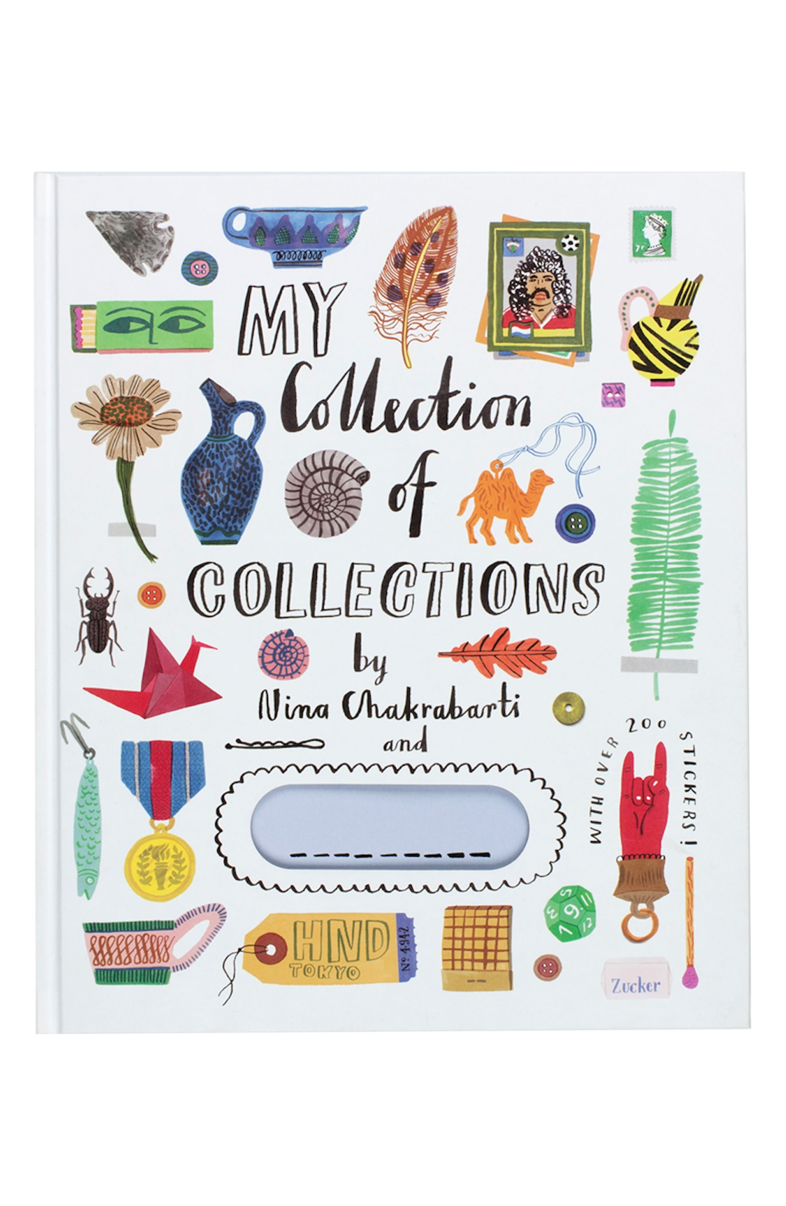 'My Collection of Collections' Sticker Activity Book