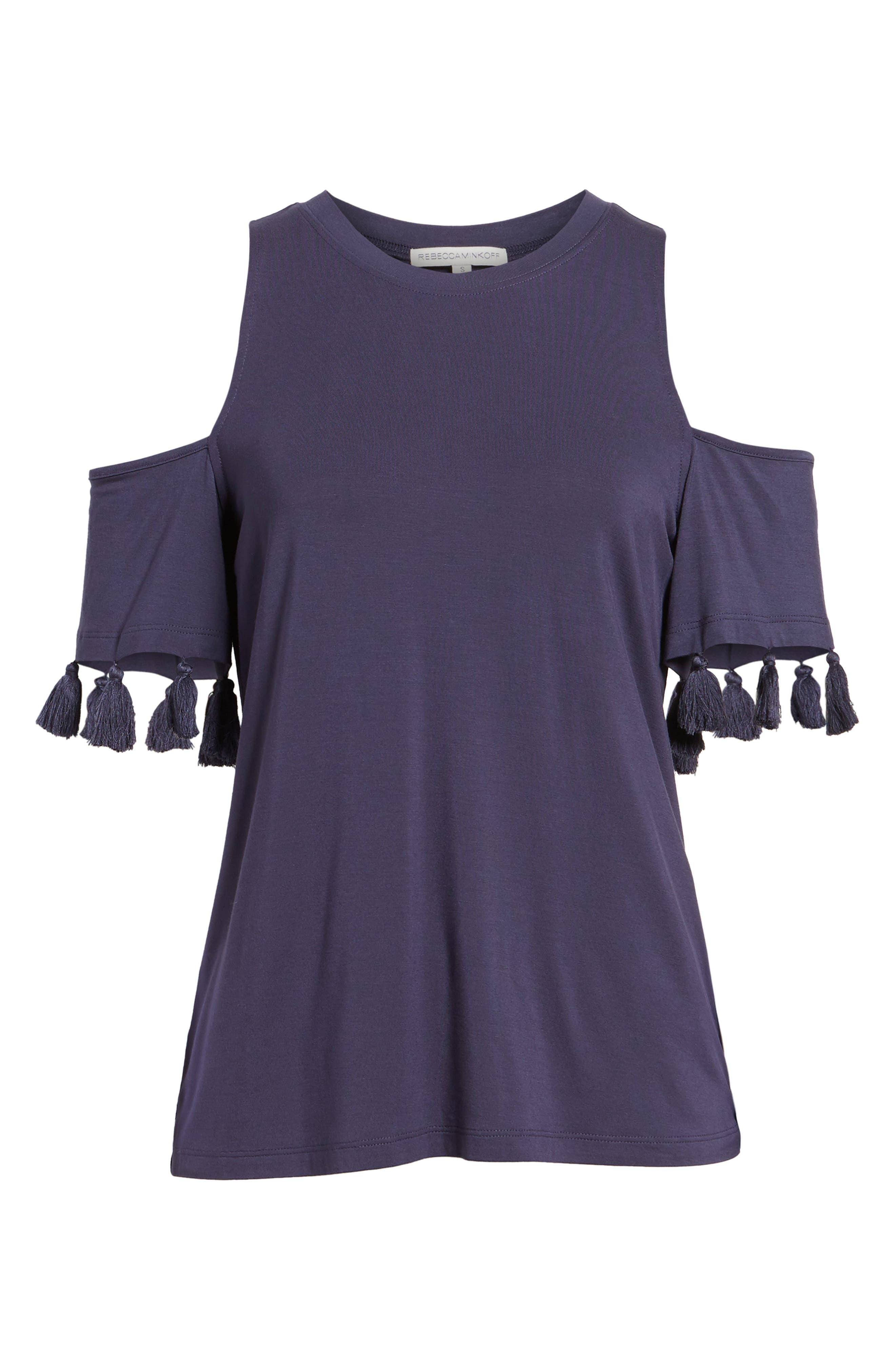 Alternate Image 6  - Rebecca Minkoff Theora Cold Shoulder Tee