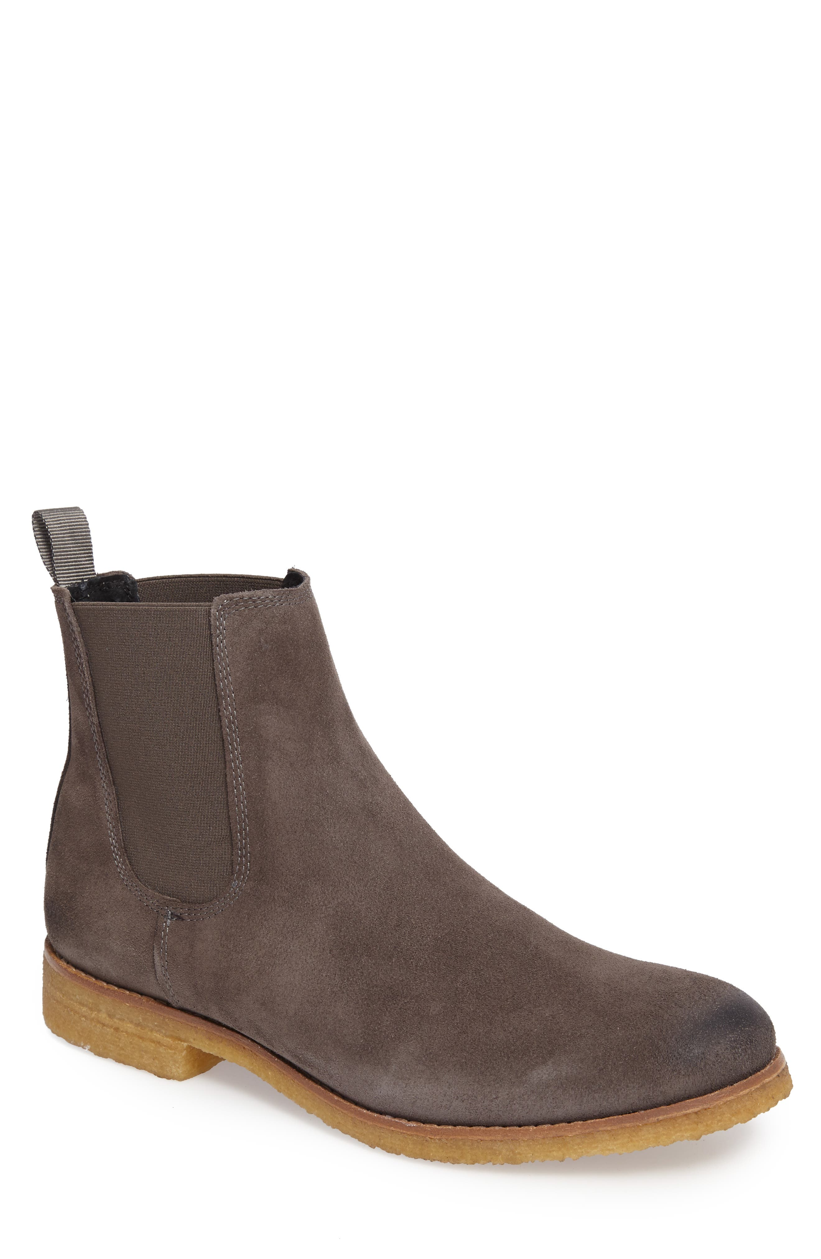 SUPPLY LAB Jared Chelsea Boot in Grey Suede