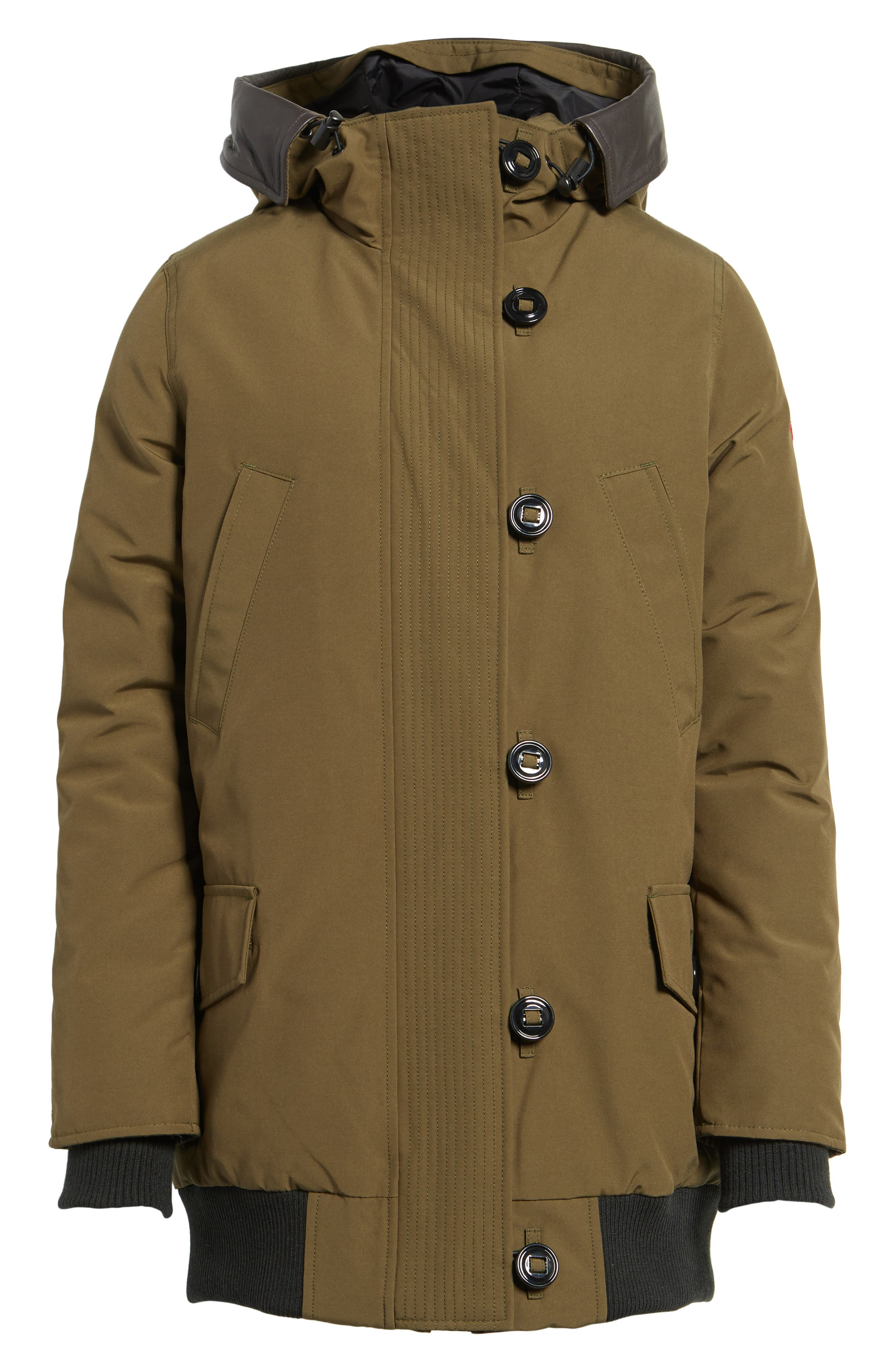 Alternate Image 6  - Canada Goose Finnegan 625-Fill Power Down Parka with Genuine Shearling Hood Lining
