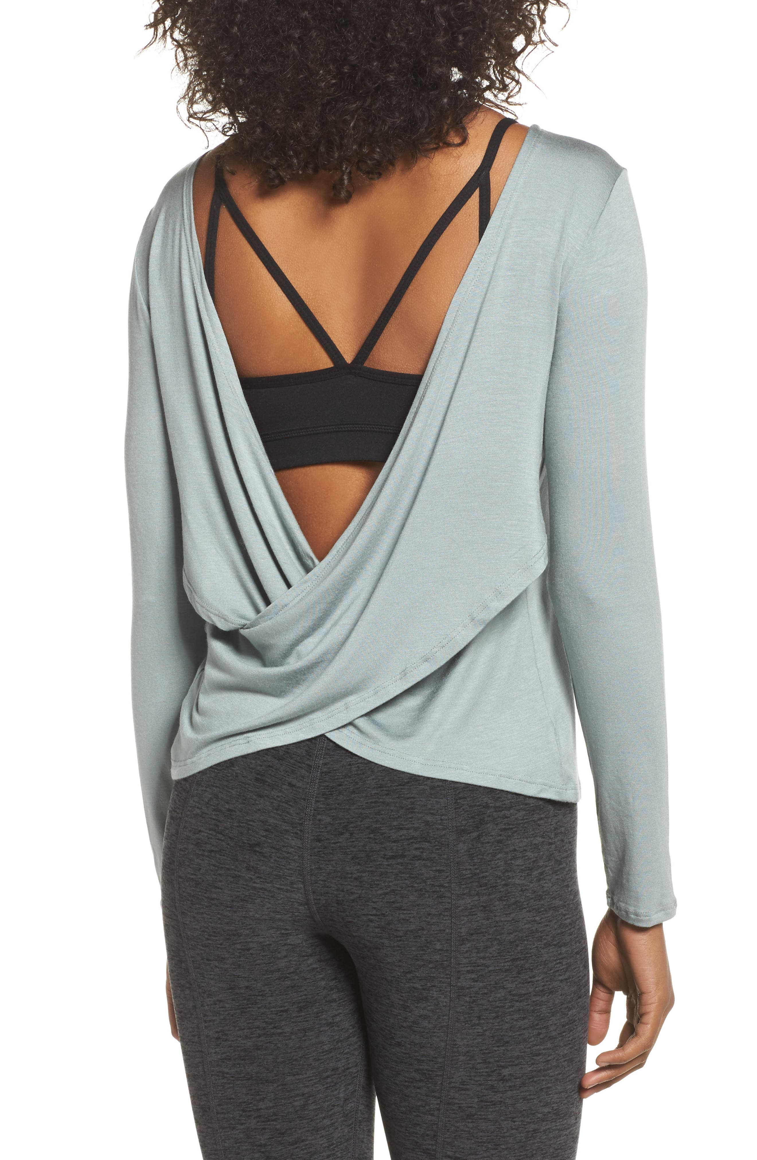 Alternate Image 2  - Beyond Yoga Twist of Fate Pullover