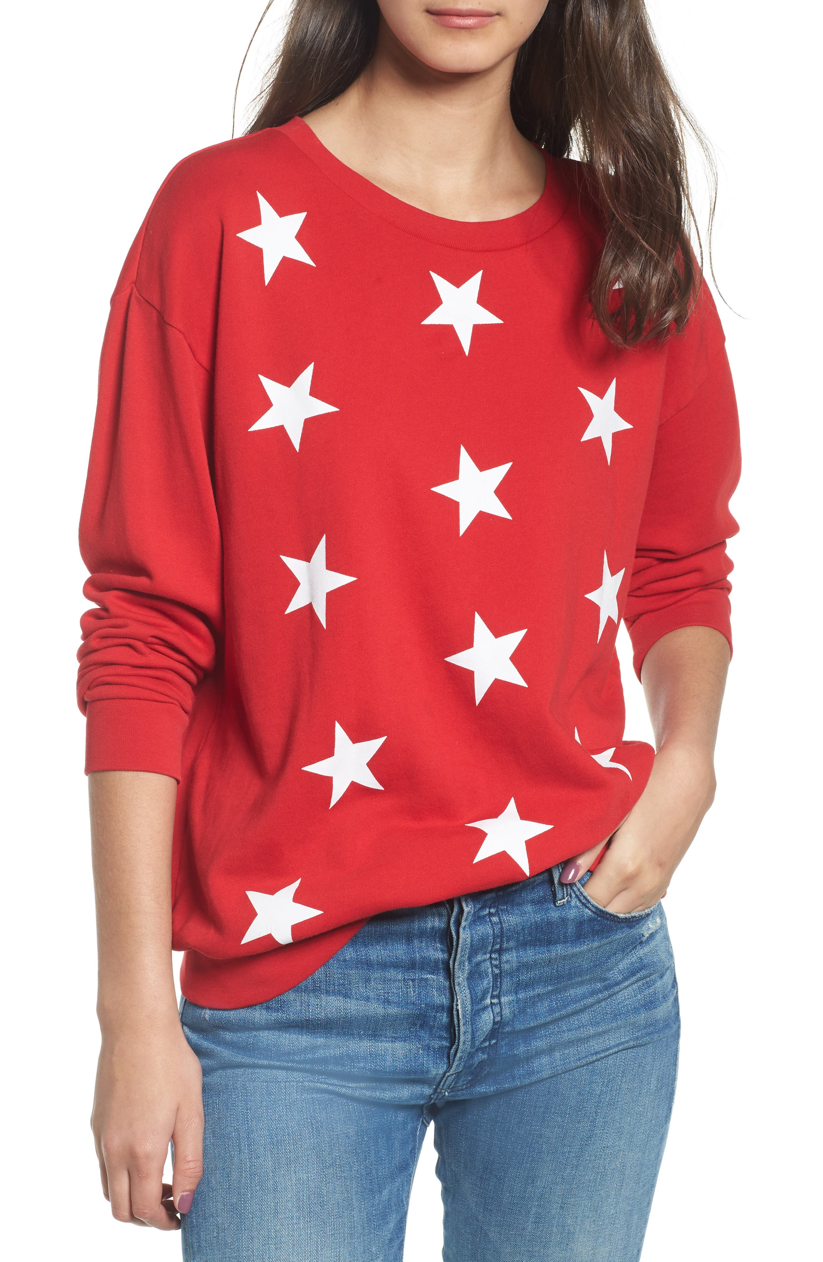 Alternate Image 1 Selected - South Parade Alexa - Super Stars Sweatshirt