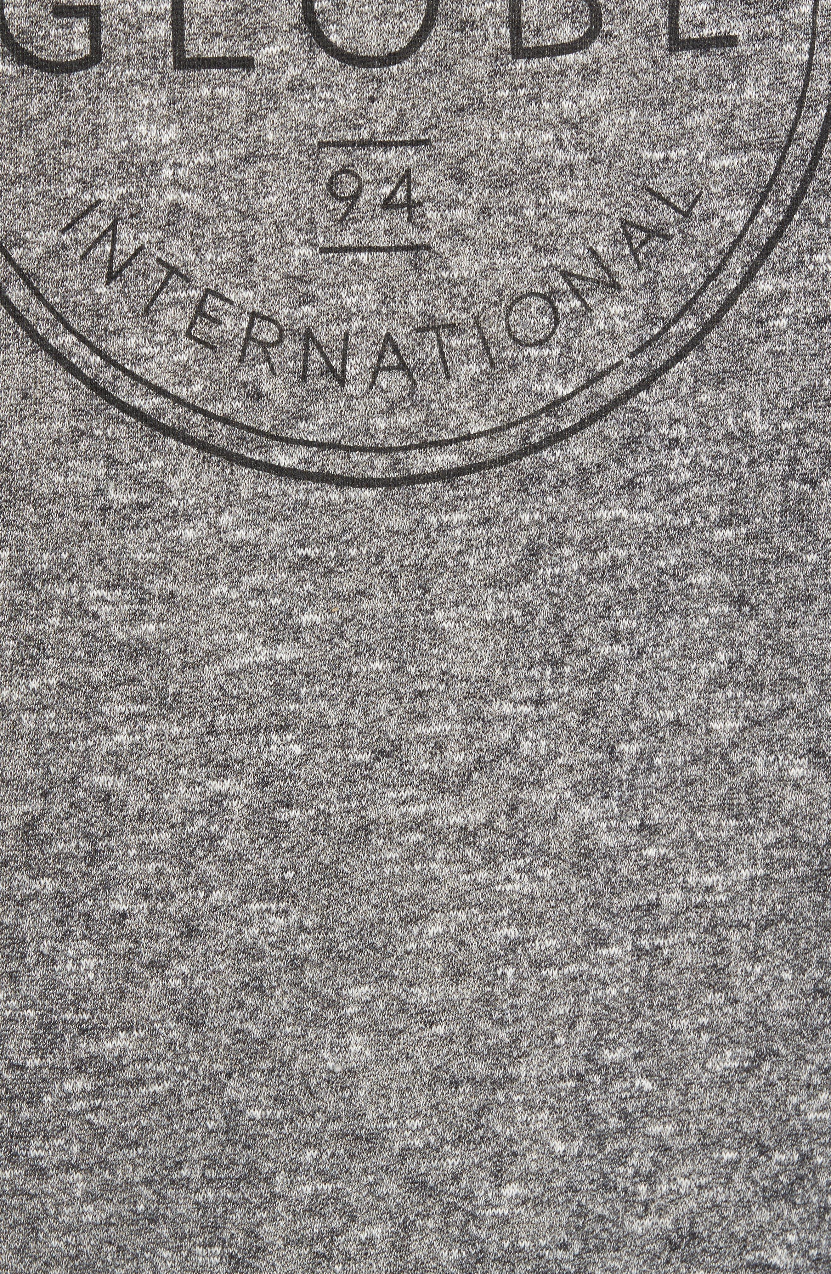 Winson Graphic Sweatshirt,                             Alternate thumbnail 5, color,                             Grey Speckle