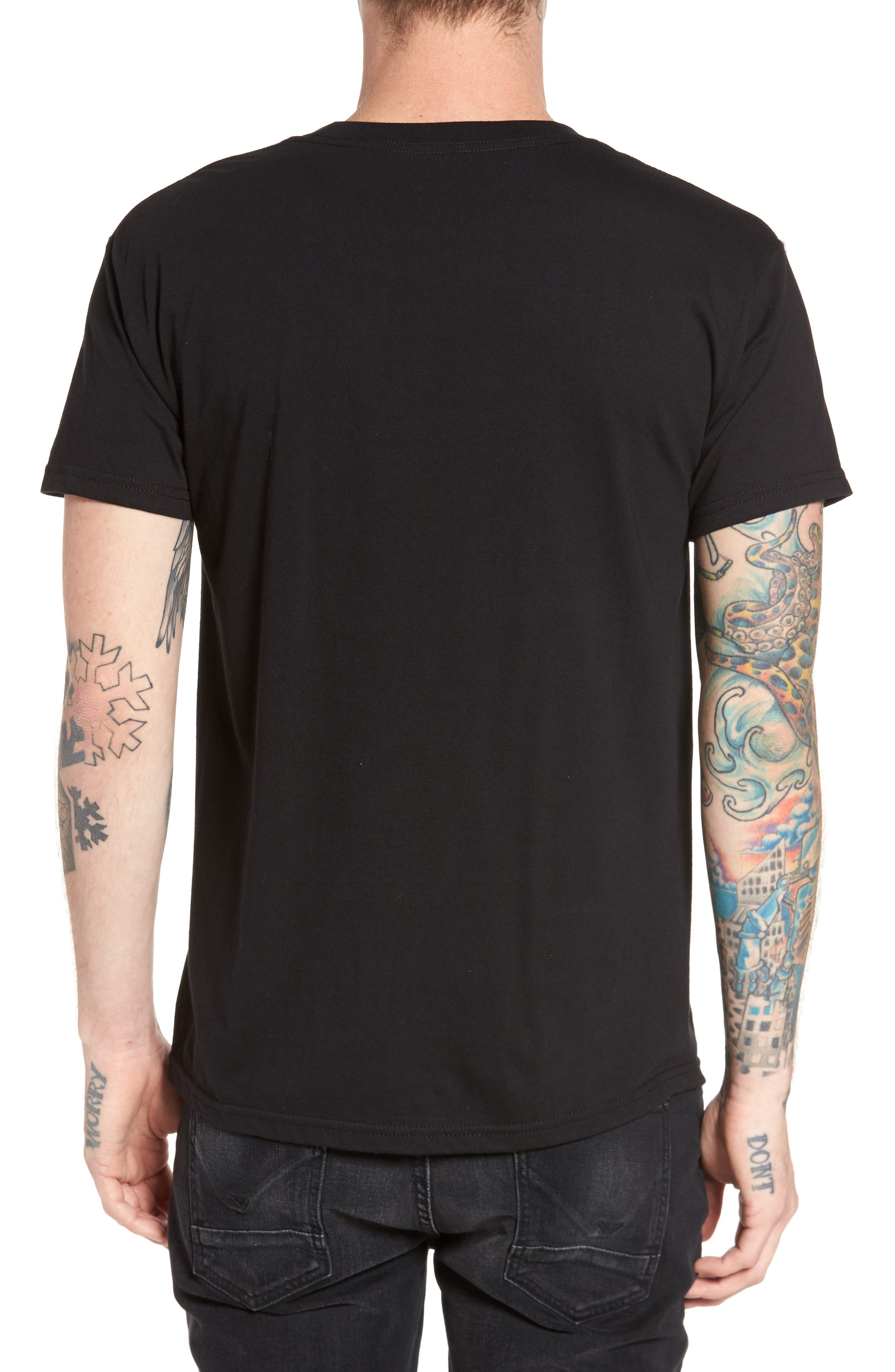 Alternate Image 2  - Obey Ghosts in the Machine Premium Graphic T-Shirt