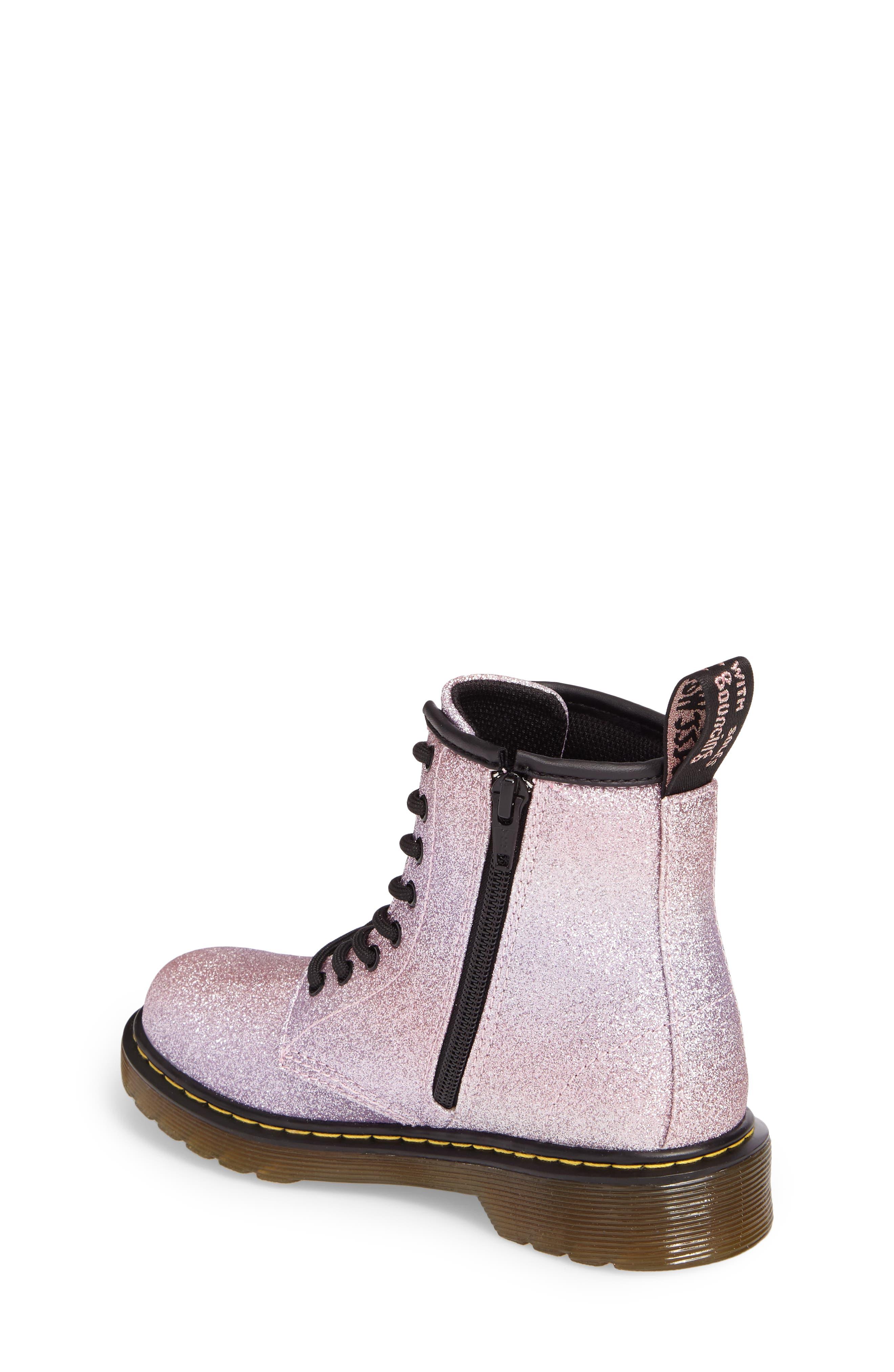 Alternate Image 2  - Dr. Martens Delaney Glitter Boot (Toddler, Little Kid & Big Kid)