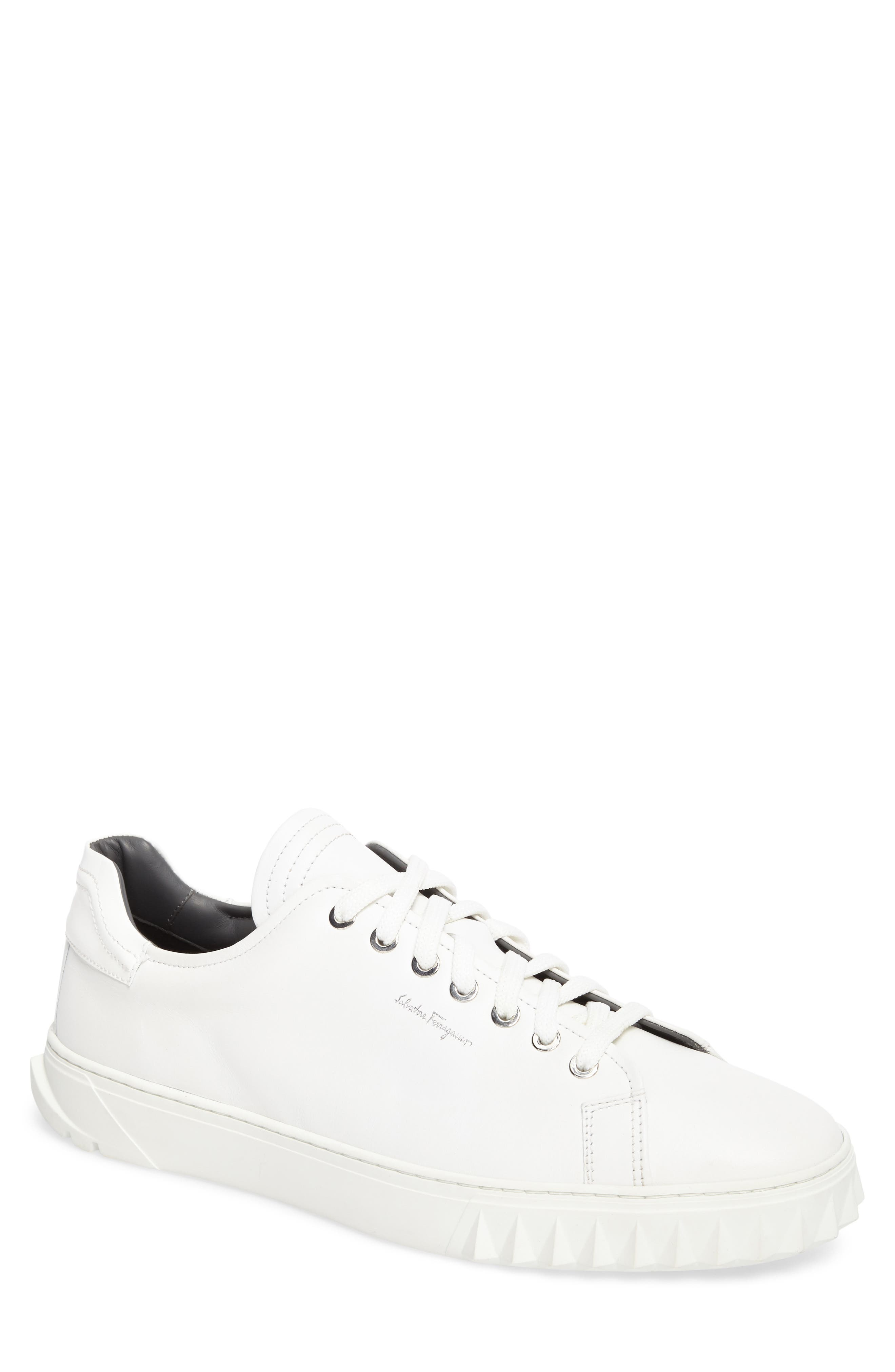 Alternate Image 1 Selected - Salvatore Ferragamo Cube Sneaker (Men)