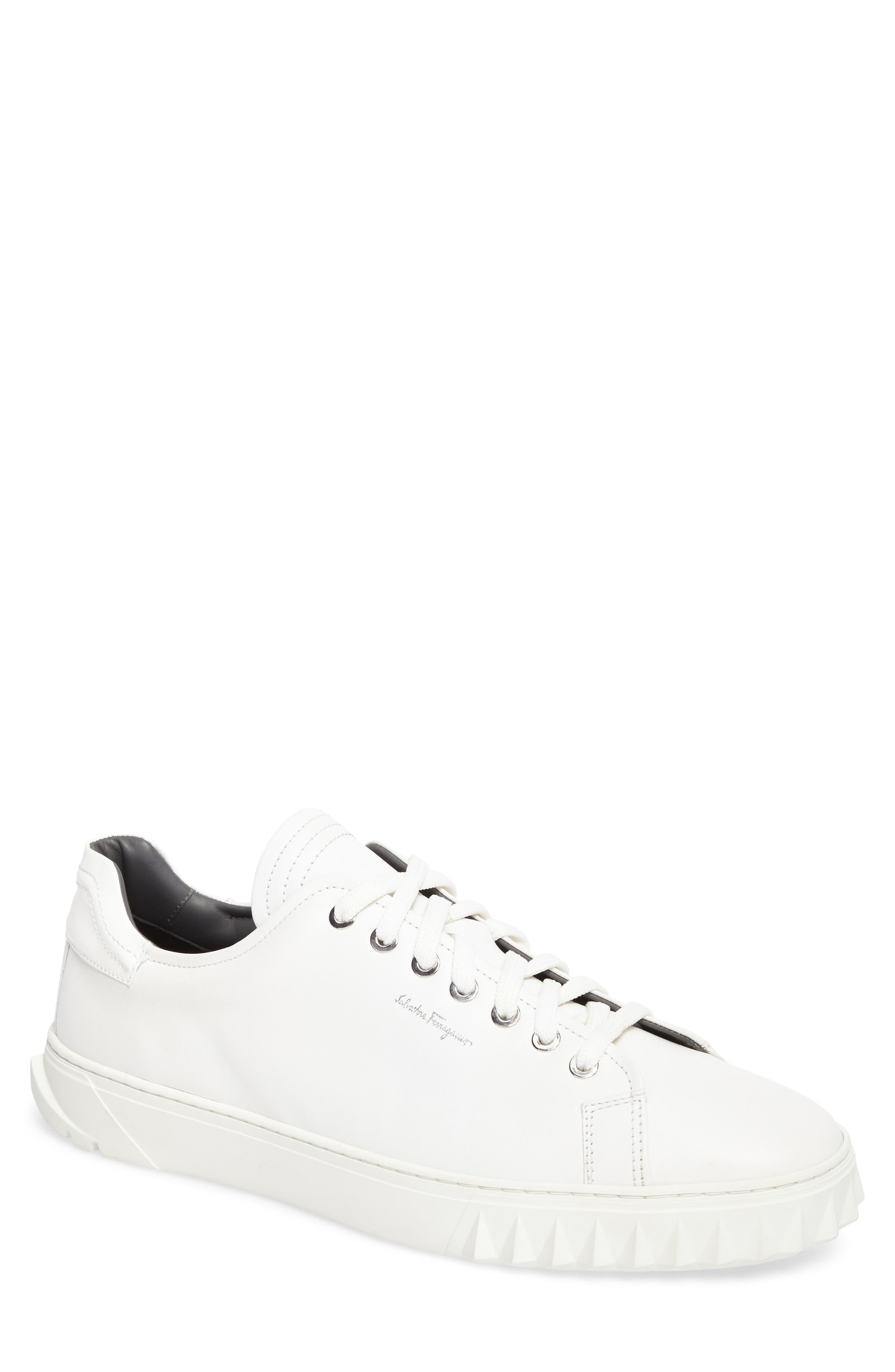 Cube Sneaker,                         Main,                         color, Bianco