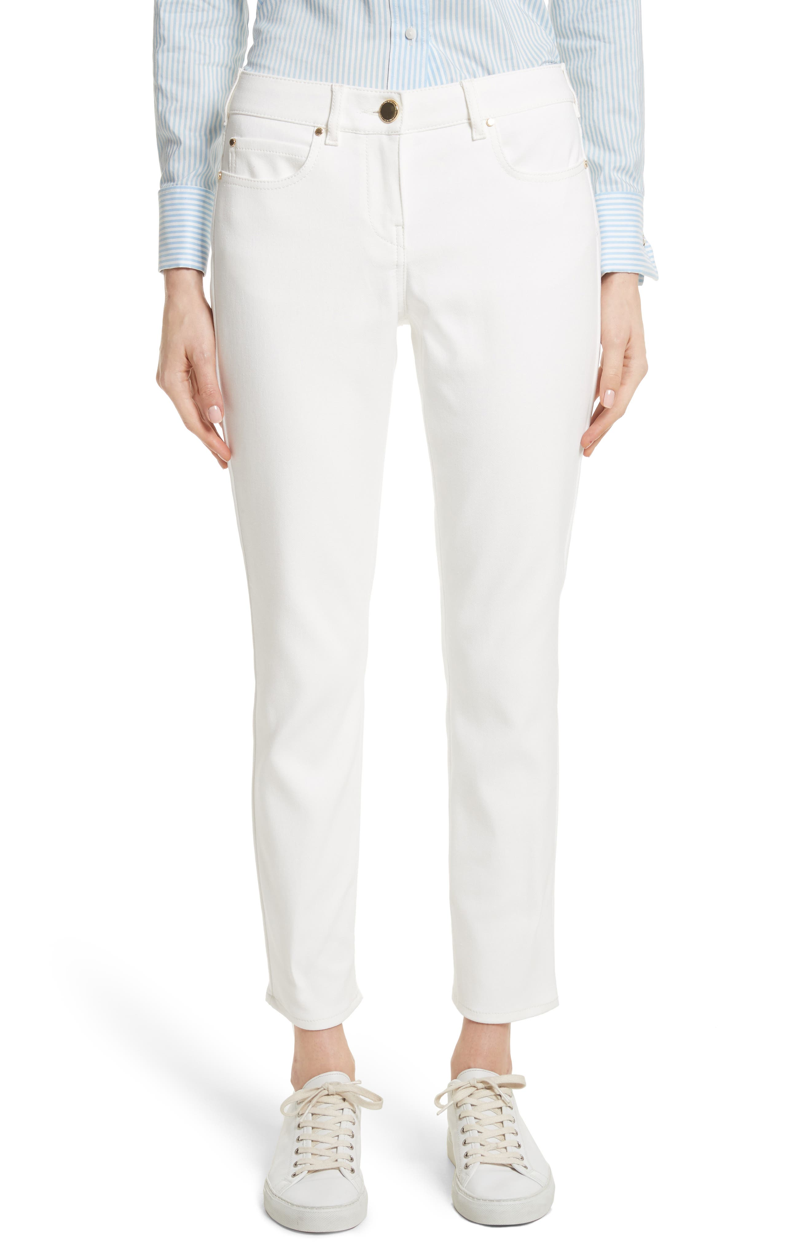 Ulrico Stretch Jeans,                         Main,                         color, Silk