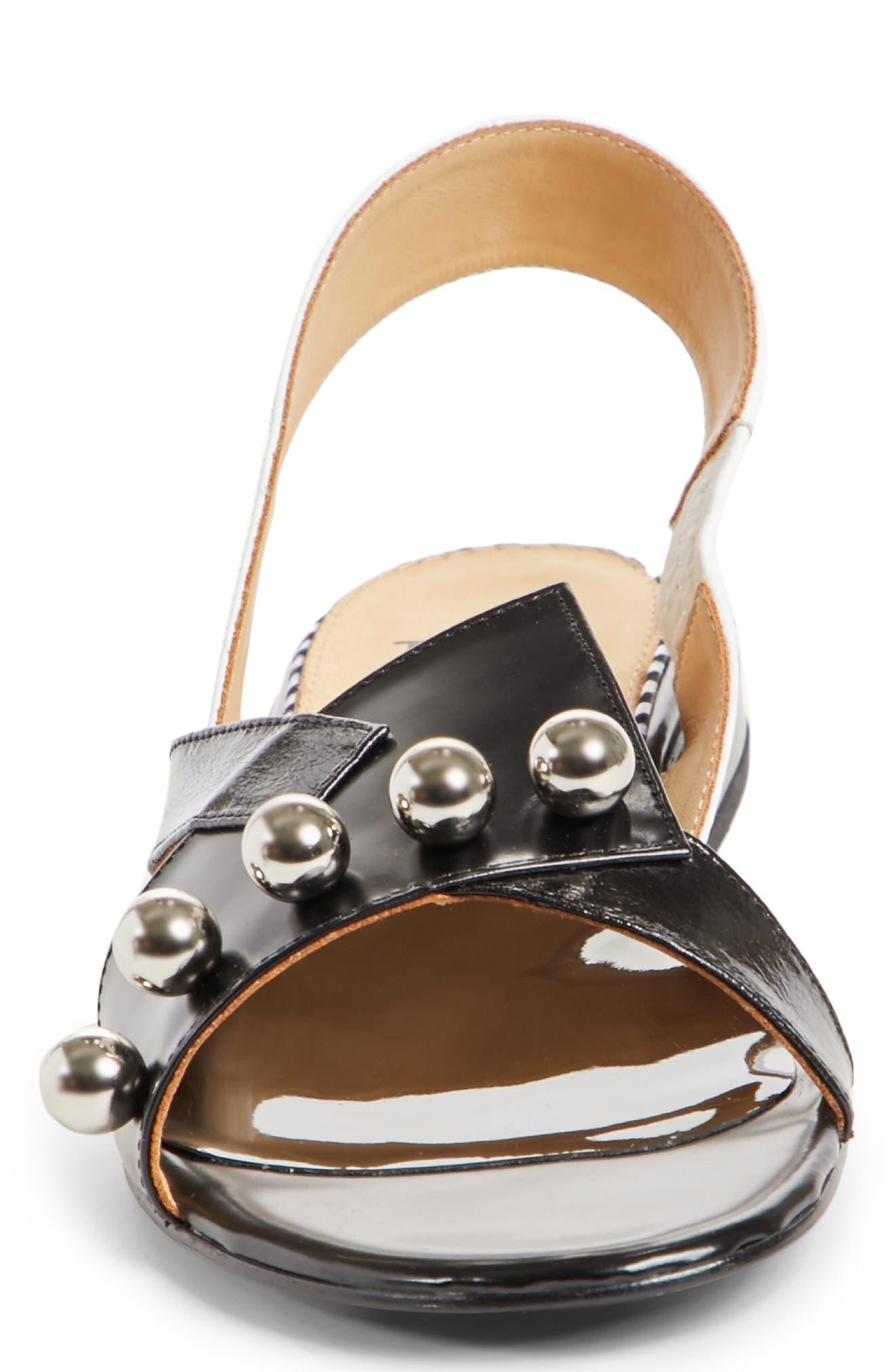 Alternate Image 4  - TOGA PULLA Embellished Colorblock Slingback Sandal (Women)