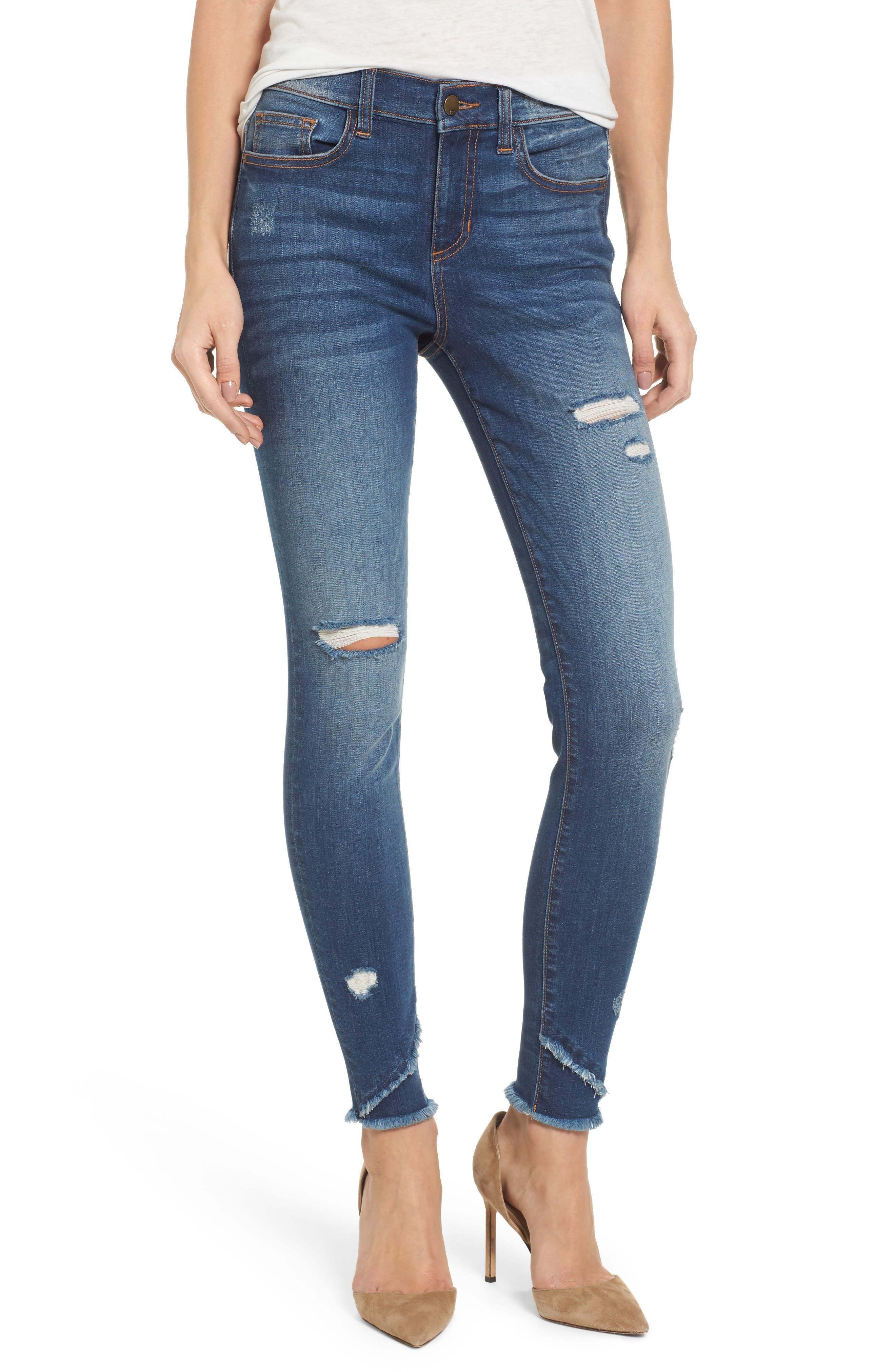 SP Black Ripped Skinny Jeans