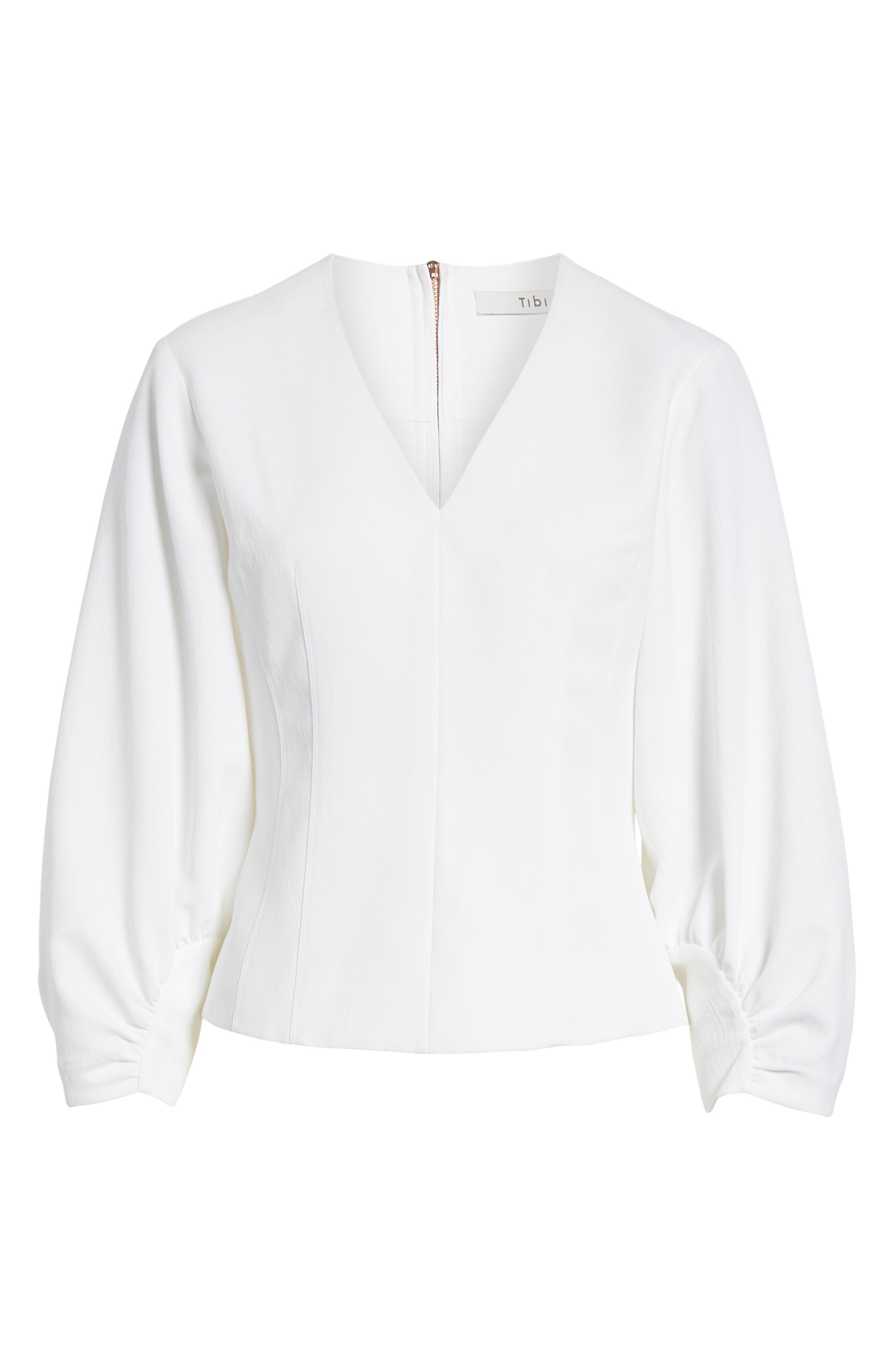 Alternate Image 7  - Tibi Cinched Sleeve Top