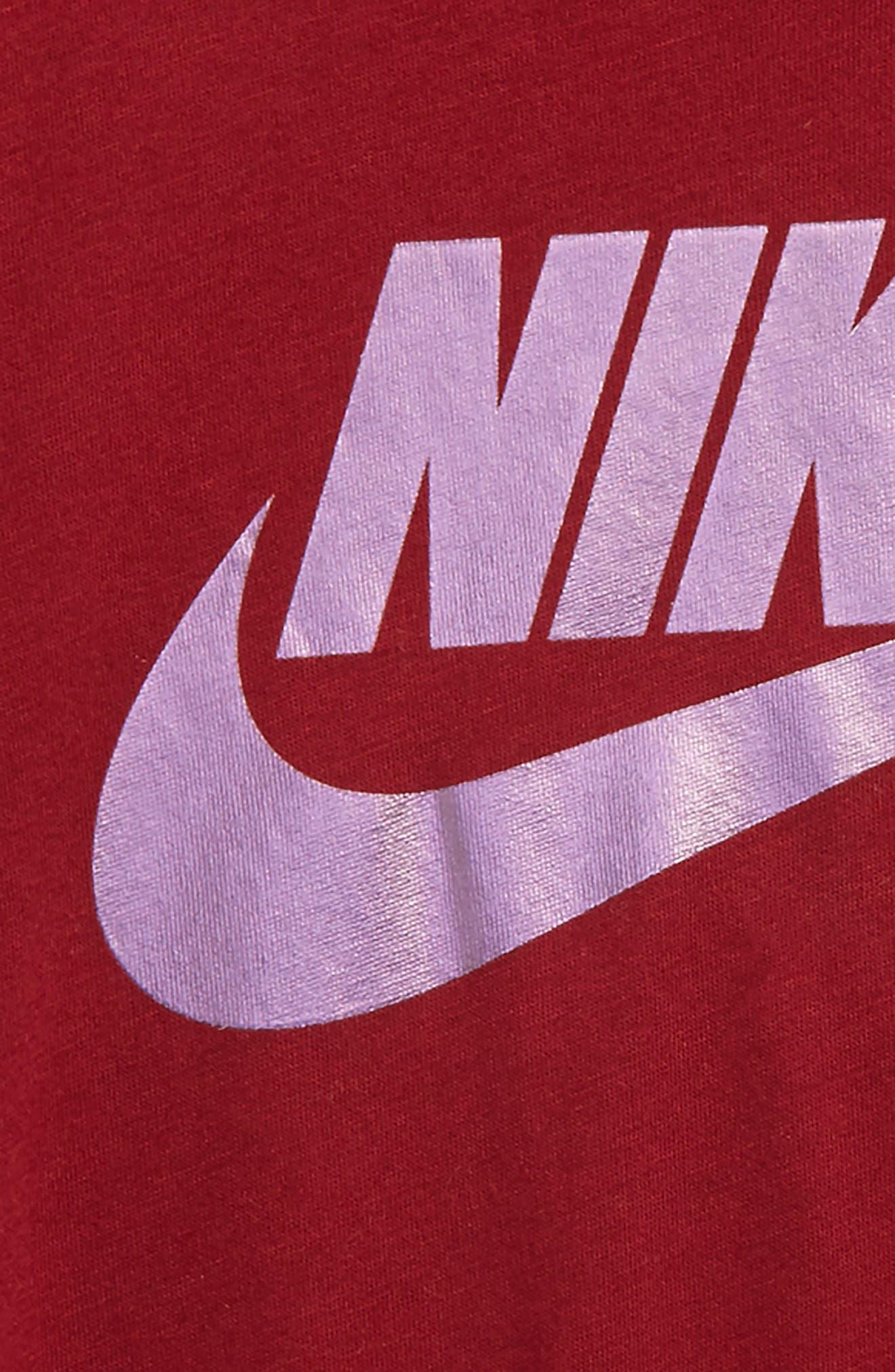 Alternate Image 2  - Nike Colorshift Logo T-Shirt (Toddler Boys & Little Boys)