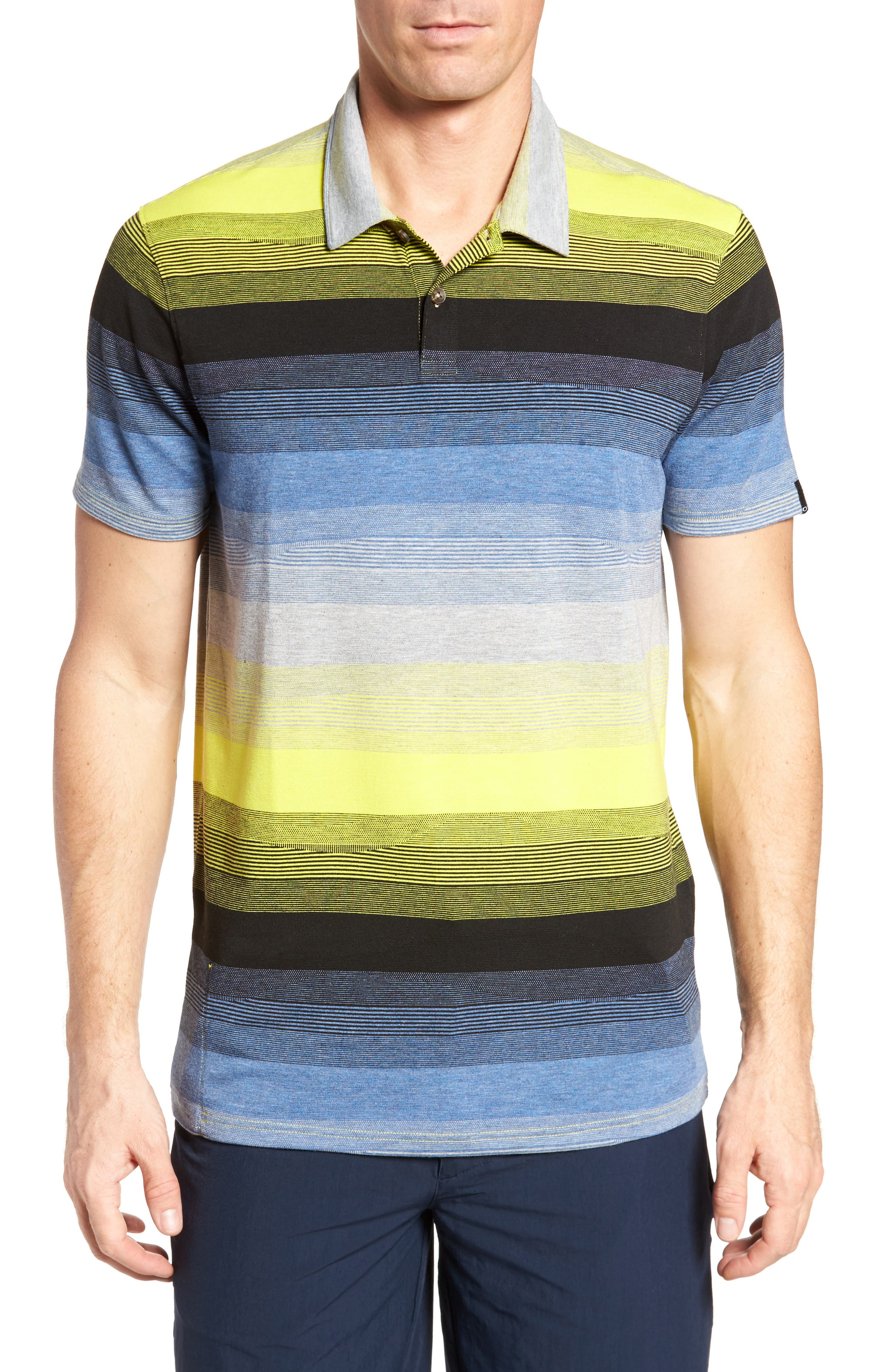 Lateral Polo Shirt,                             Main thumbnail 1, color,                             Laser