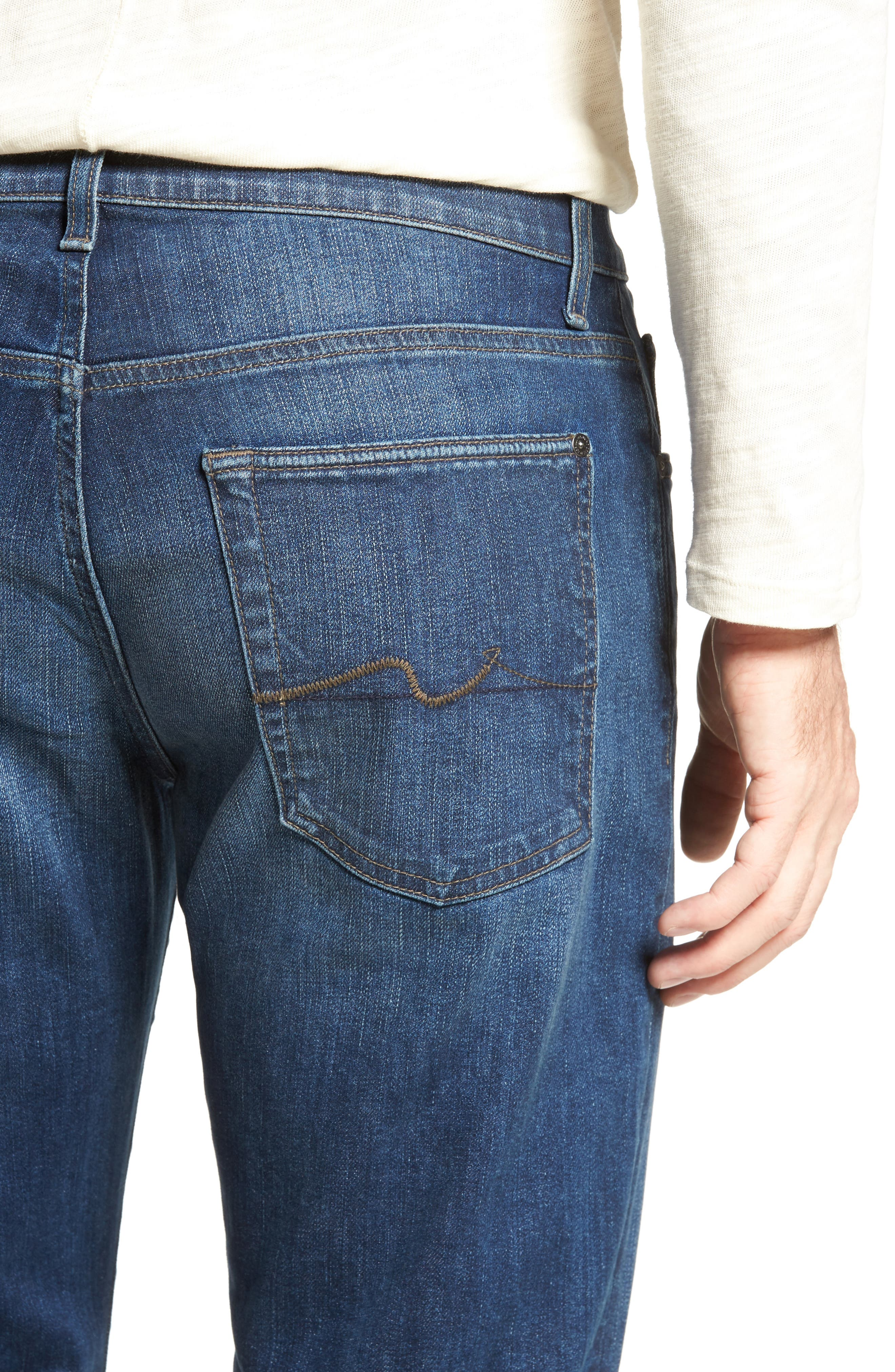 Alternate Image 4  - 7 For All Mankind® Austyn Relaxed Fit Jeans (Recollection)