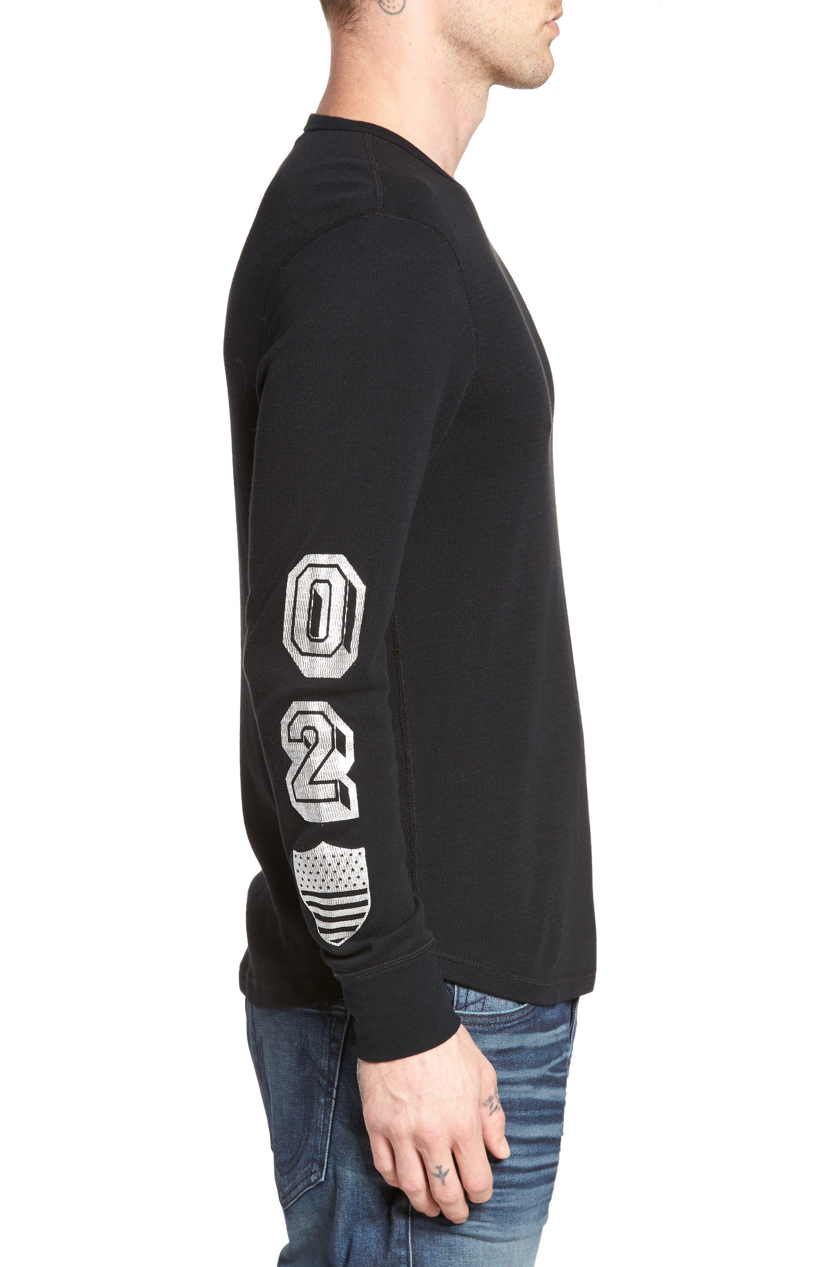 Alternate Image 4  - True Religion Brand Jeans Thermal T-Shirt