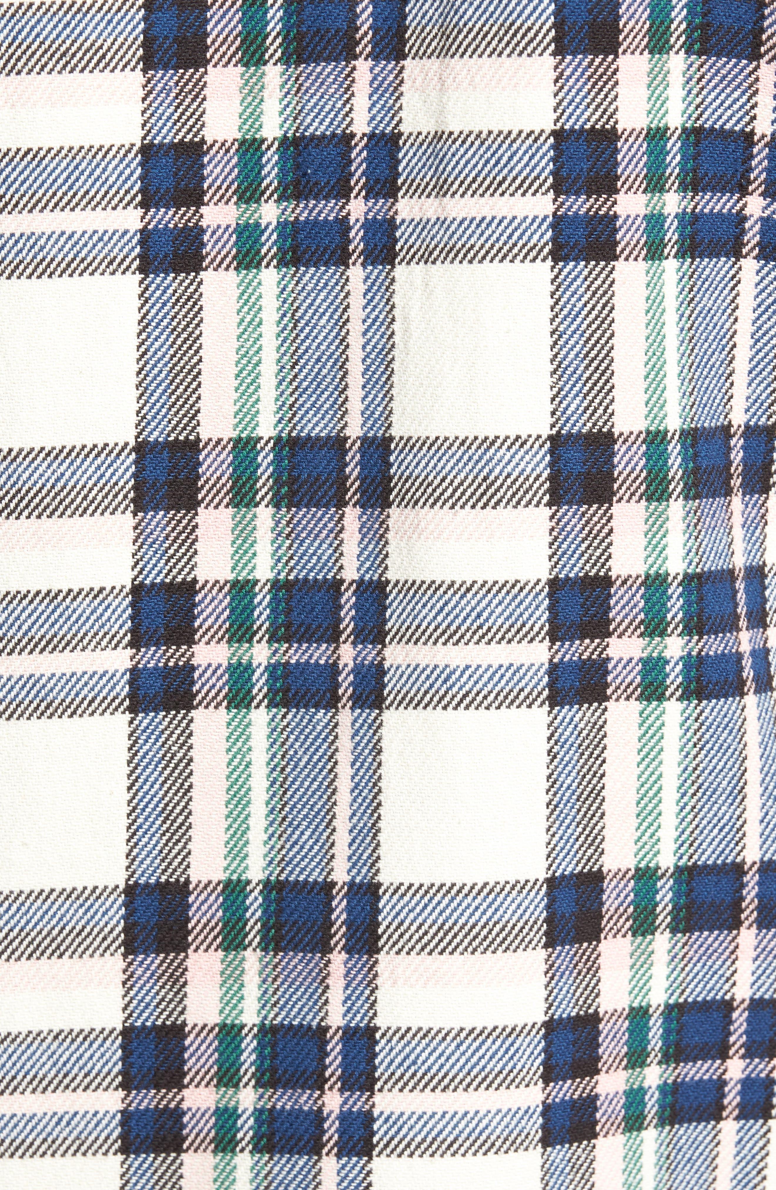 Camino Flannel Shirt,                             Alternate thumbnail 5, color,                             Multi Beige