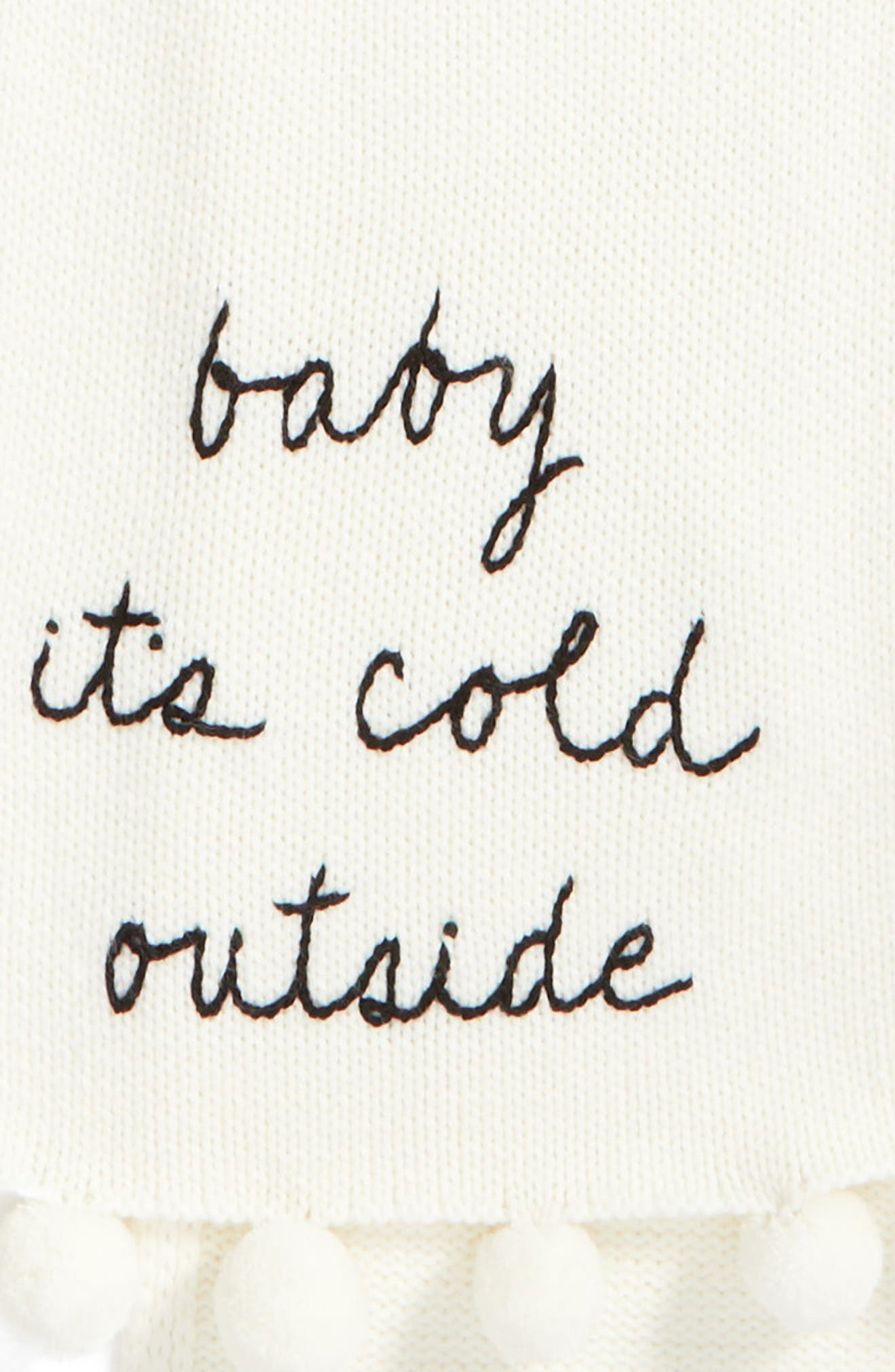 Alternate Image 4  - kate spade new york baby it's cold outside pom muffler