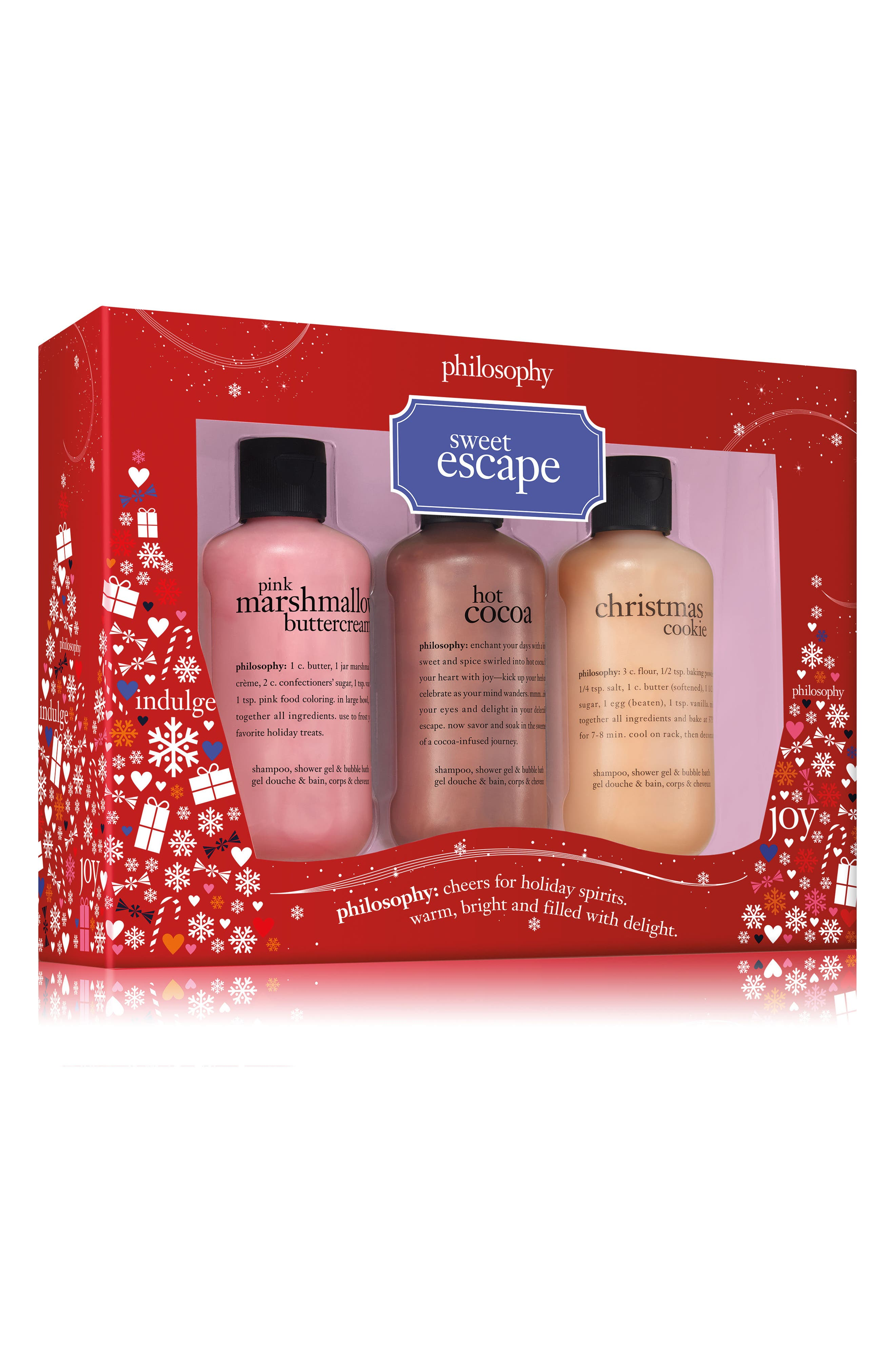 Main Image - philosophy sweet escape trio (Limited Edition)