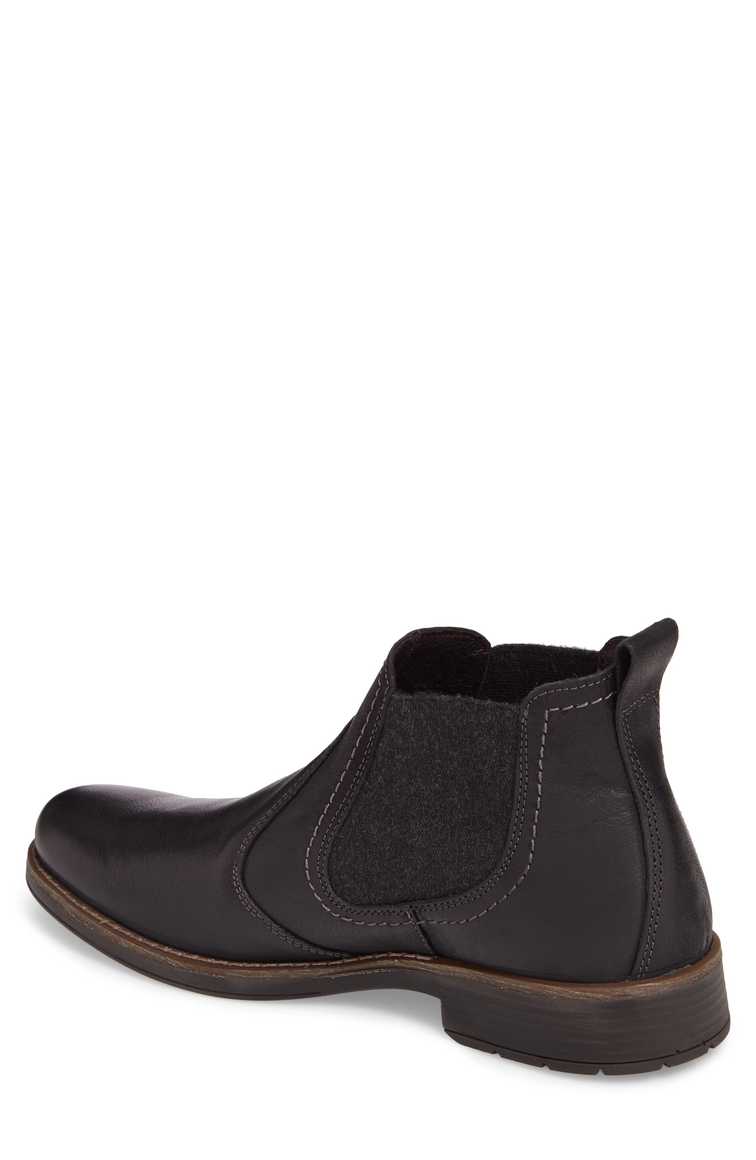 Spokane Chelsea Boot,                             Alternate thumbnail 2, color,                             Black Leather