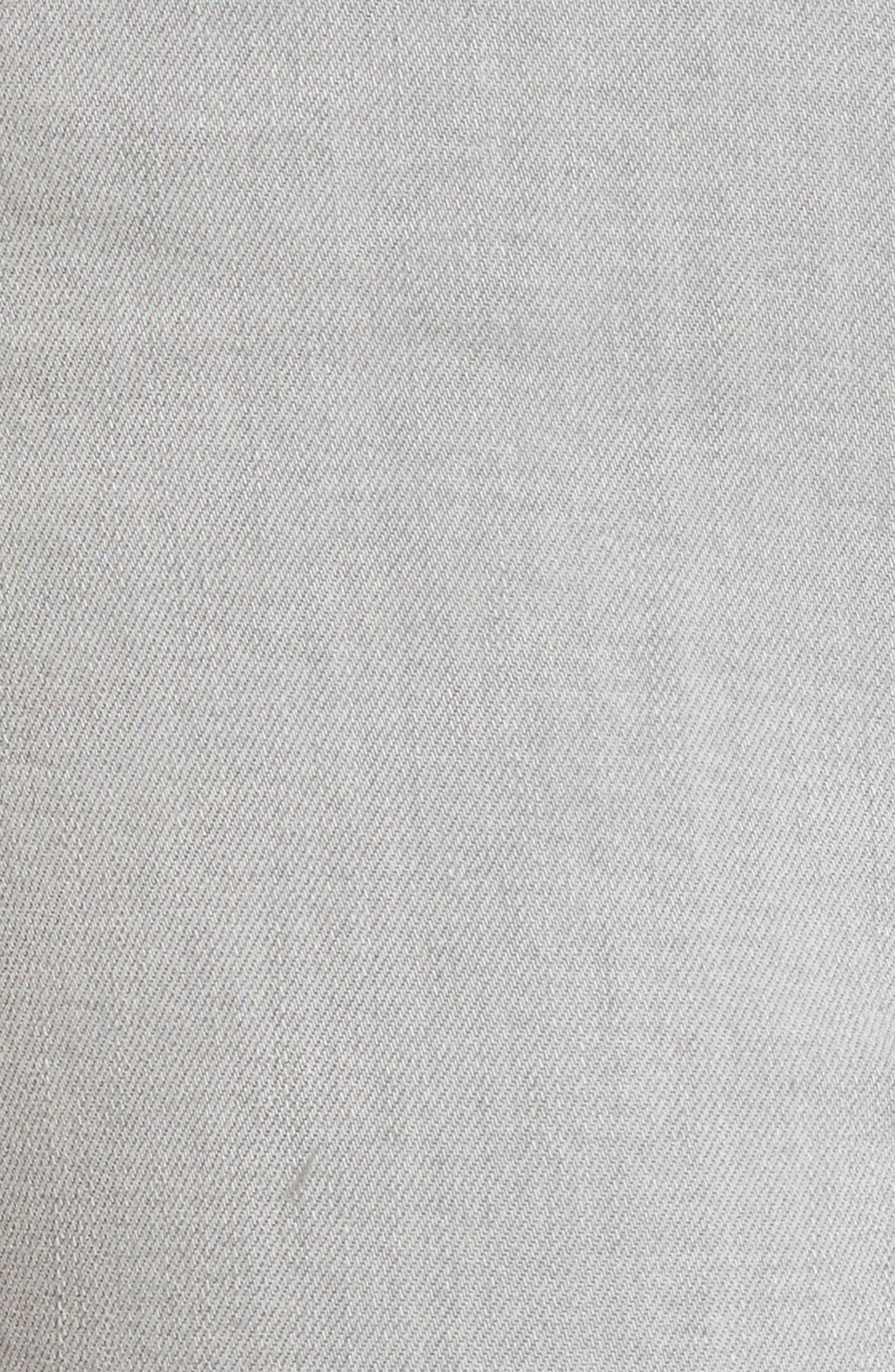 Transcend - Verdugo Ultra Skinny Jeans,                             Alternate thumbnail 6, color,                             Whisper Grey