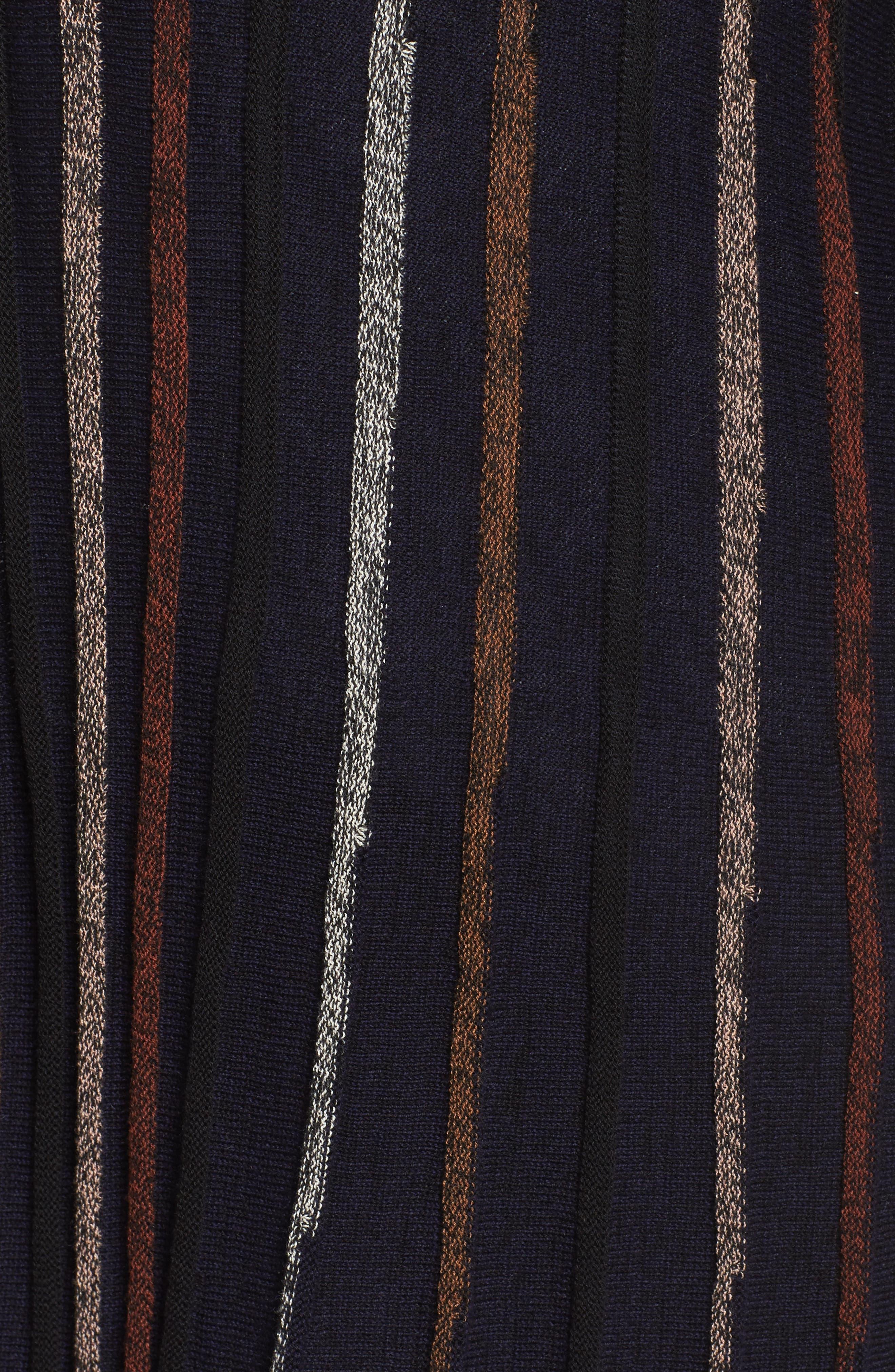 Black & Blue Cardigan,                             Alternate thumbnail 5, color,                             Multi