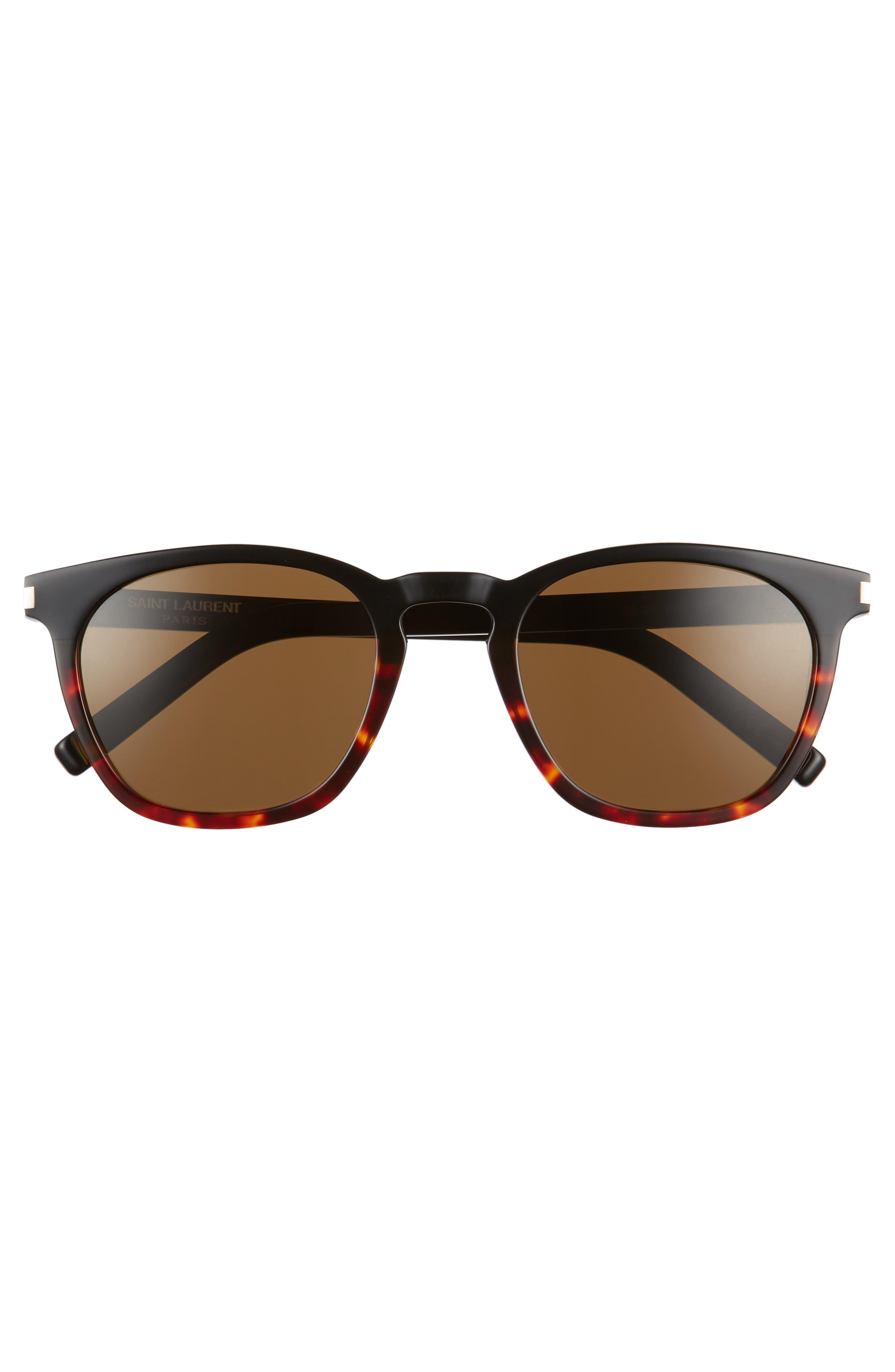 Alternate Image 3  - Saint Laurent SL 28 51mm Keyhole Sunglasses