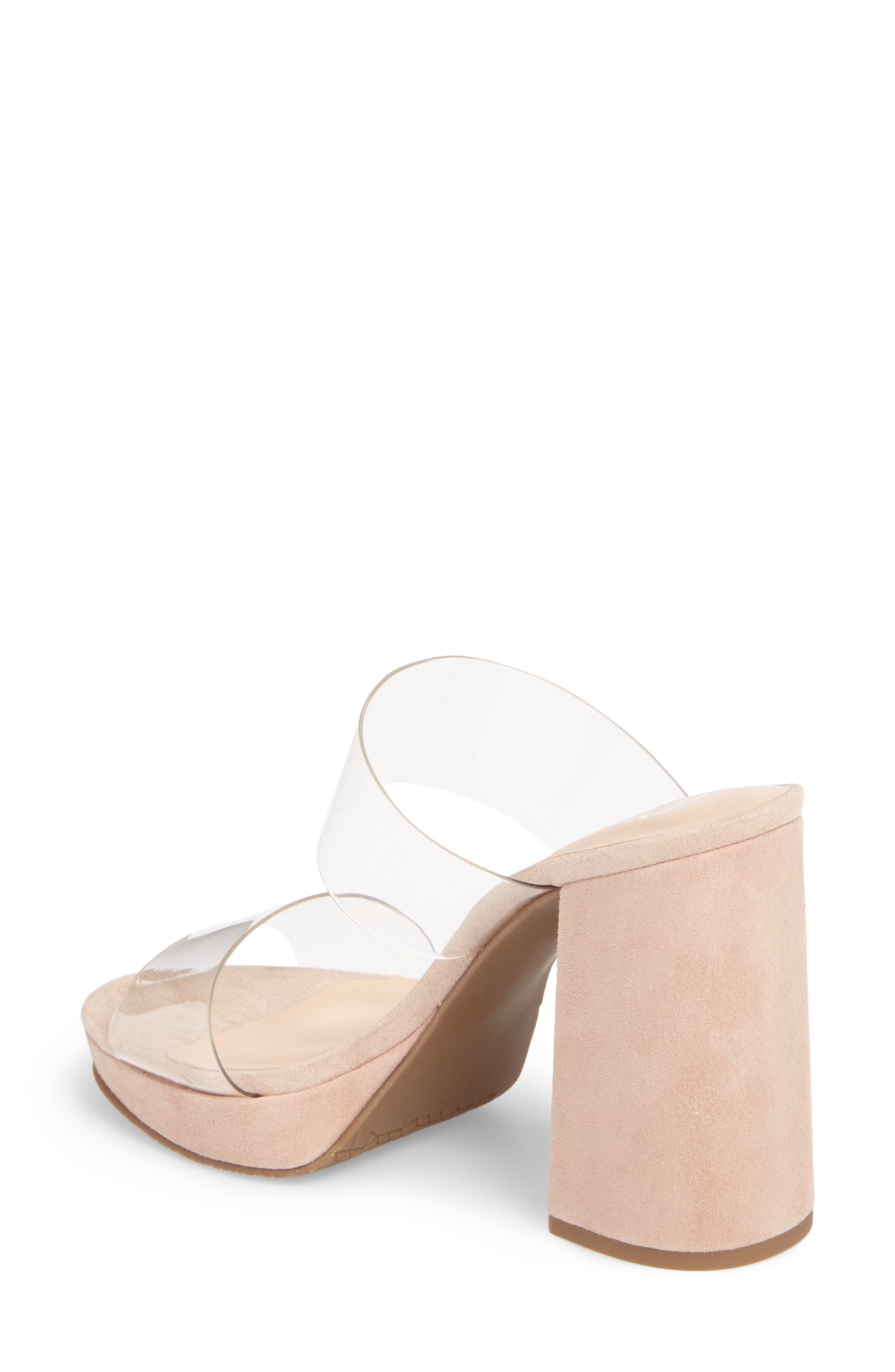Sophia Platform Sandal,                             Alternate thumbnail 4, color,                             Blush