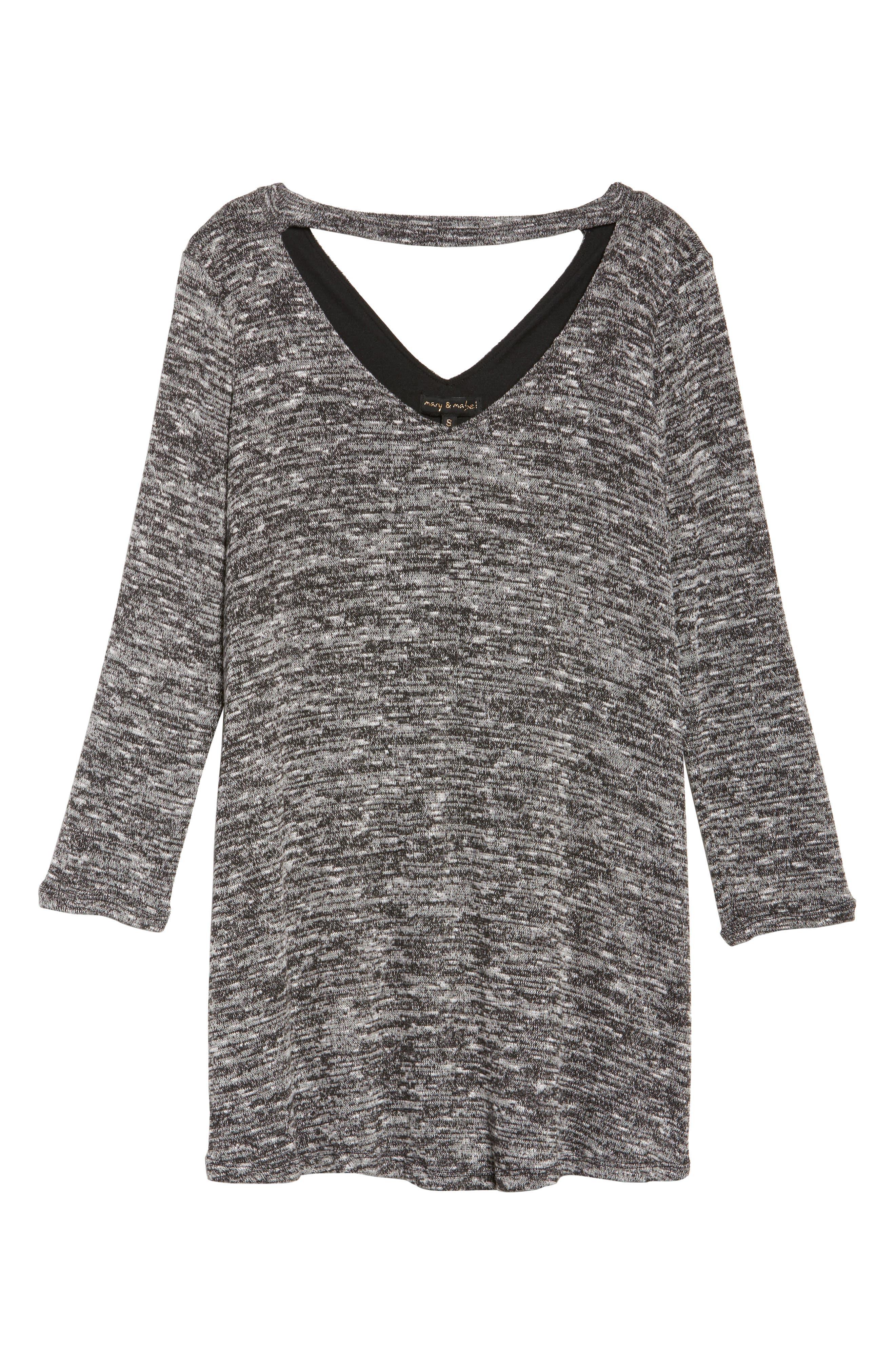 Alternate Image 6  - Mary & Mabel Cutout Sweater Dress