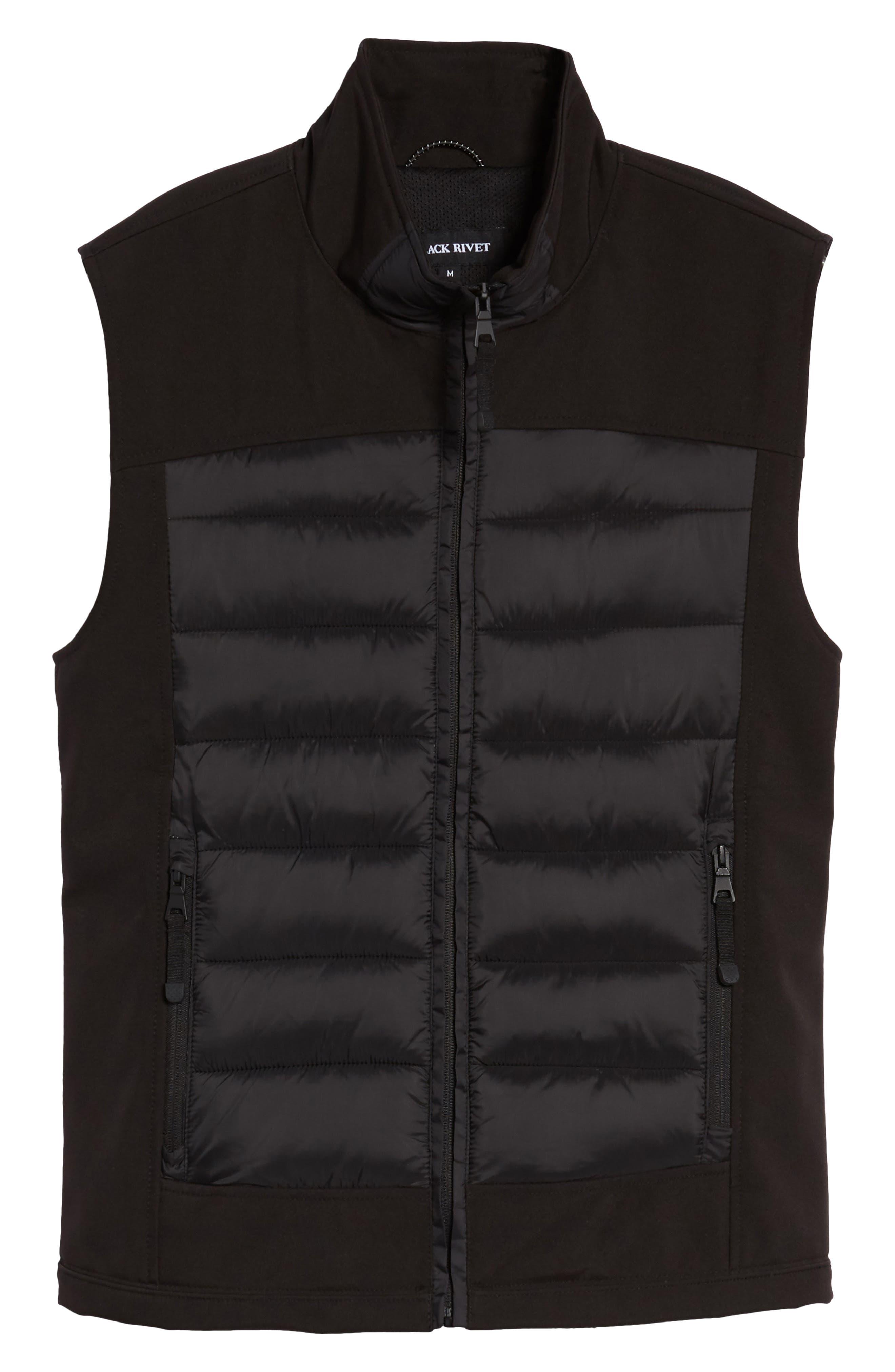 Alternate Image 6  - Black Rivet Quilted Vest