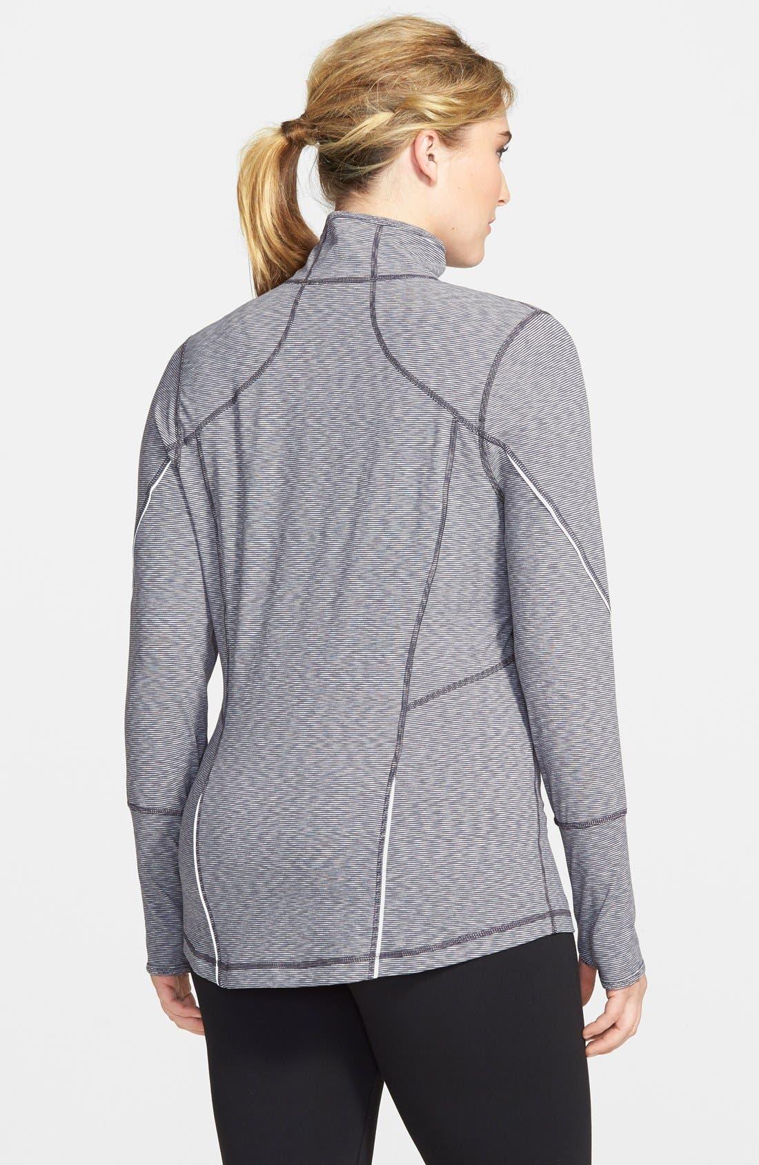 'My Run Layer 2' Cross Dye Jacket,                             Alternate thumbnail 2, color,                             Grey Slate