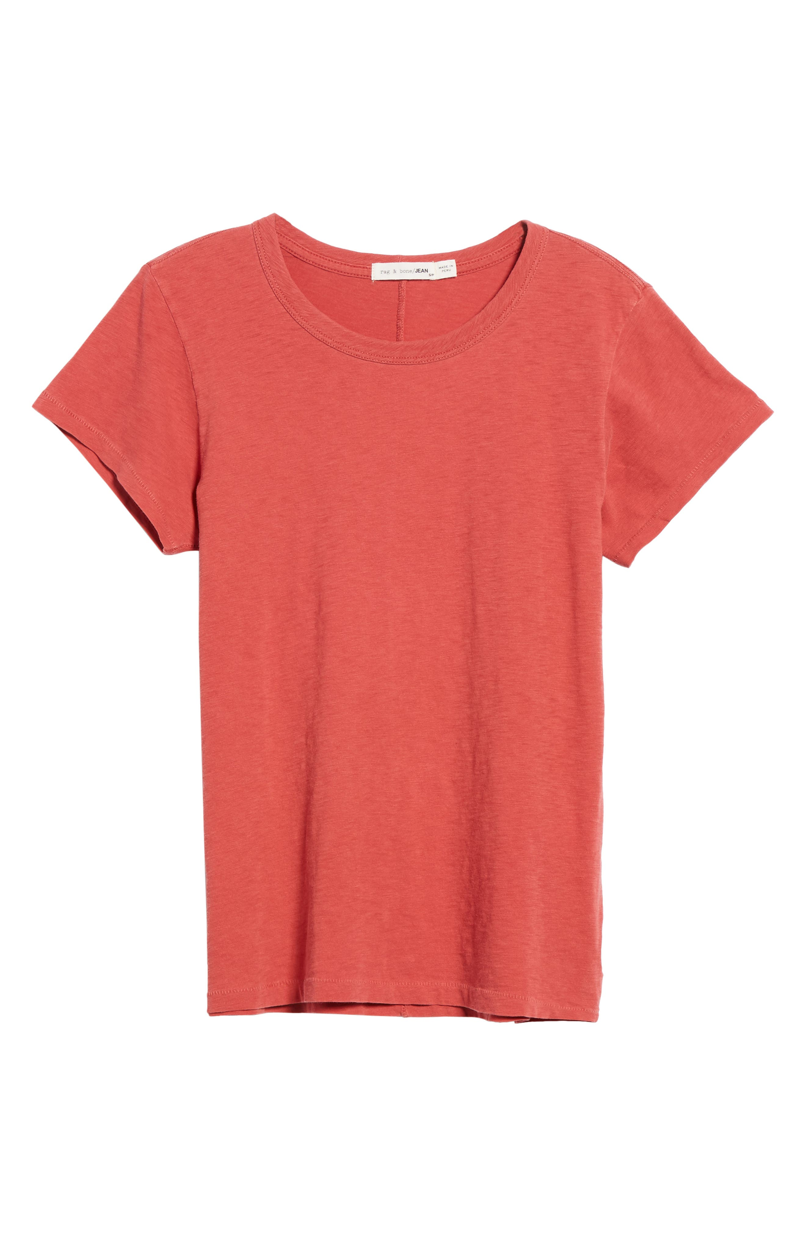 The Tee,                             Alternate thumbnail 6, color,                             Washed Red