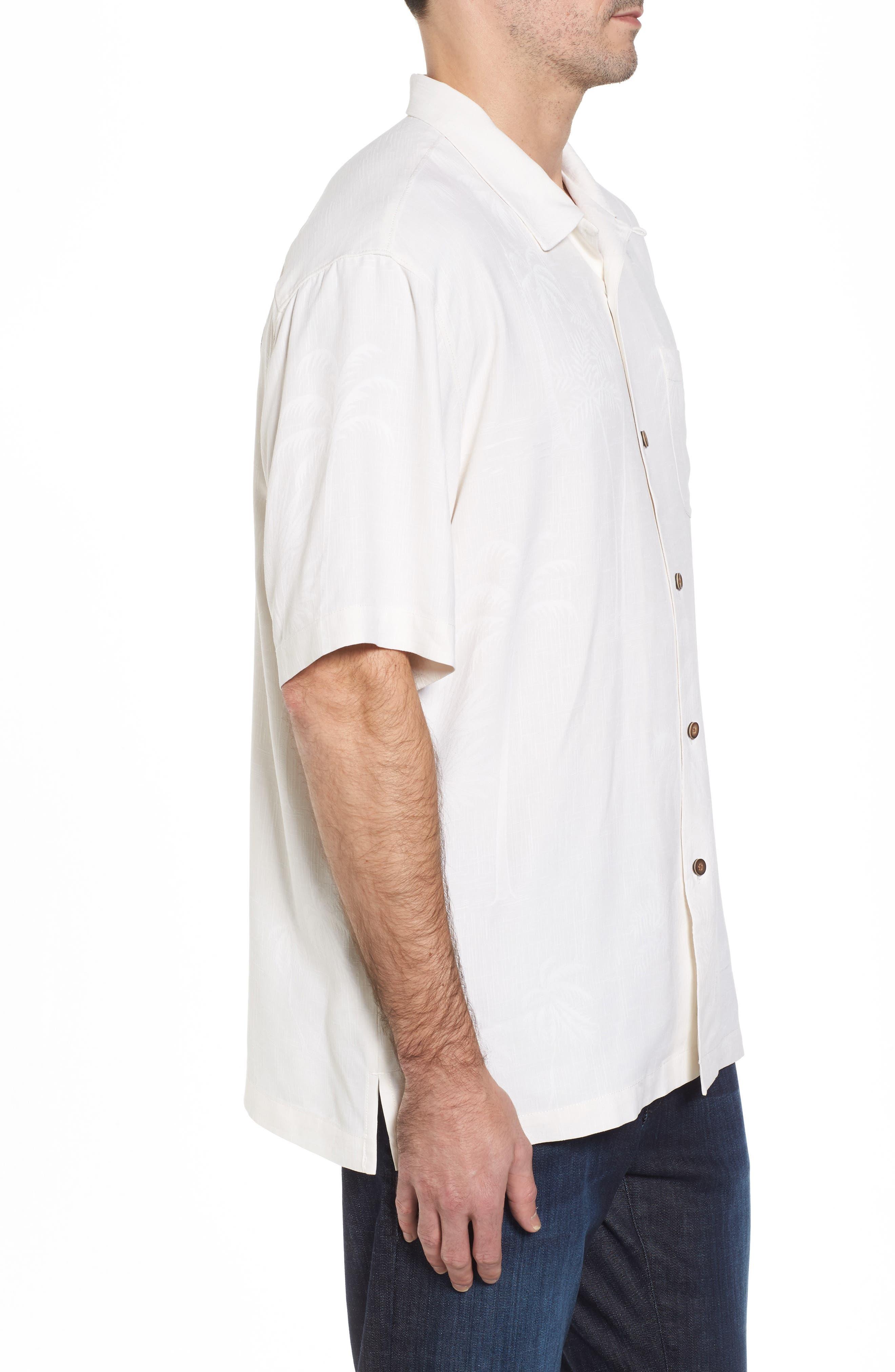 Alternate Image 3  - Tommy Bahama Offshore Sails Silk Camp Shirt