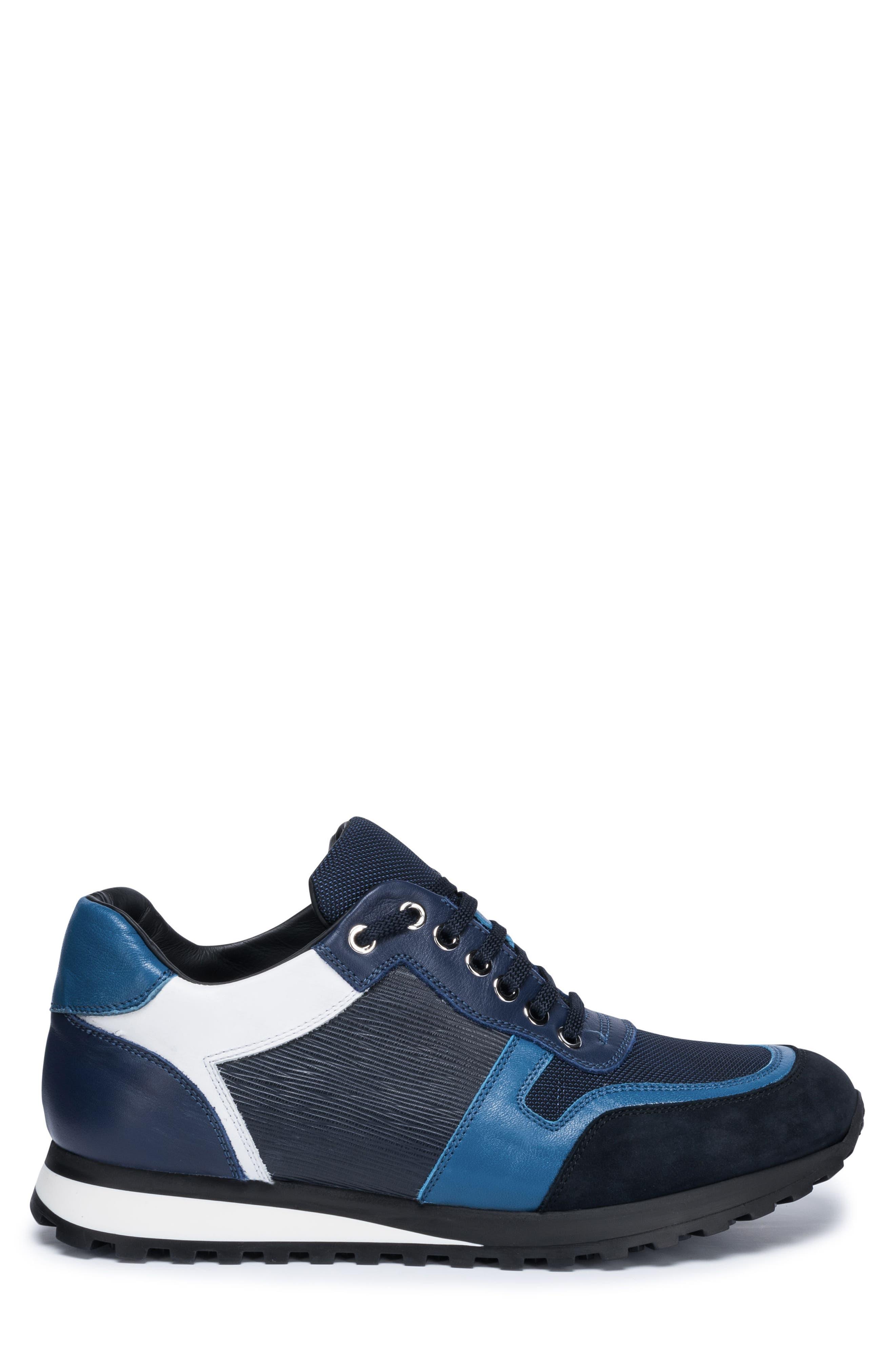 Modena Sneaker,                             Alternate thumbnail 4, color,                             Blue