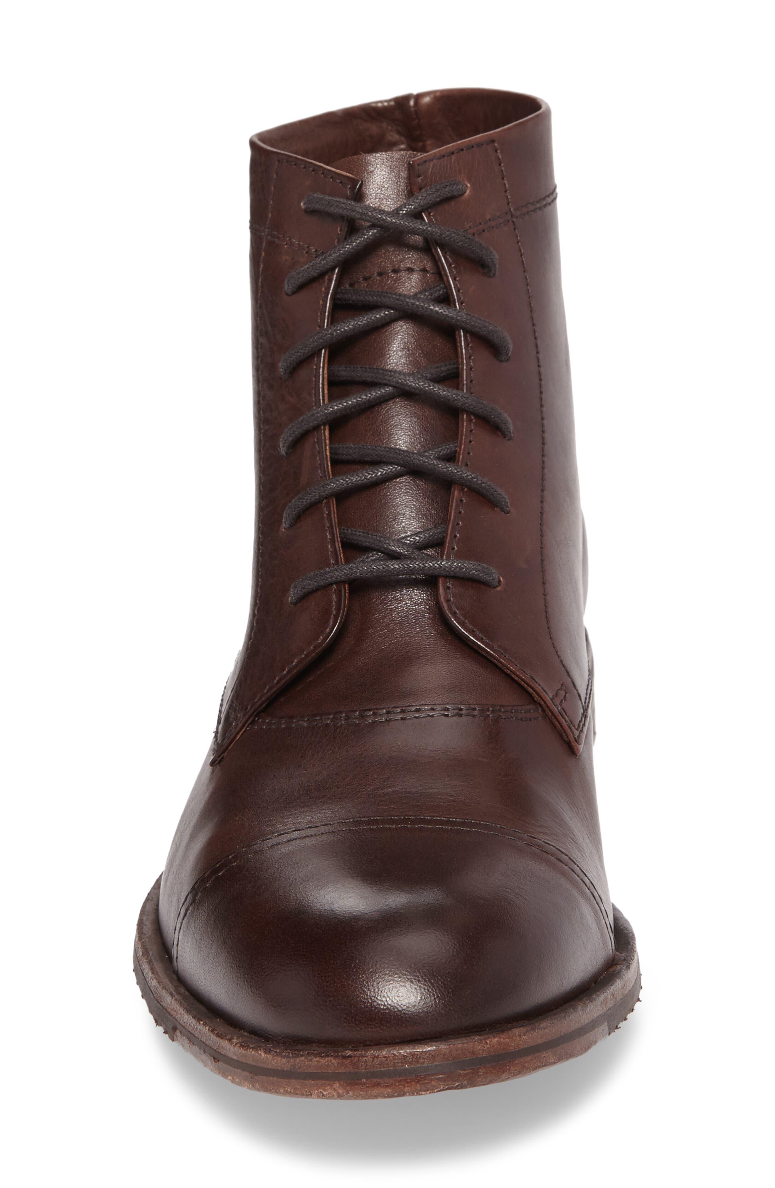 Alternate Image 4  - Frye Sam Cap Toe Boot (Men)