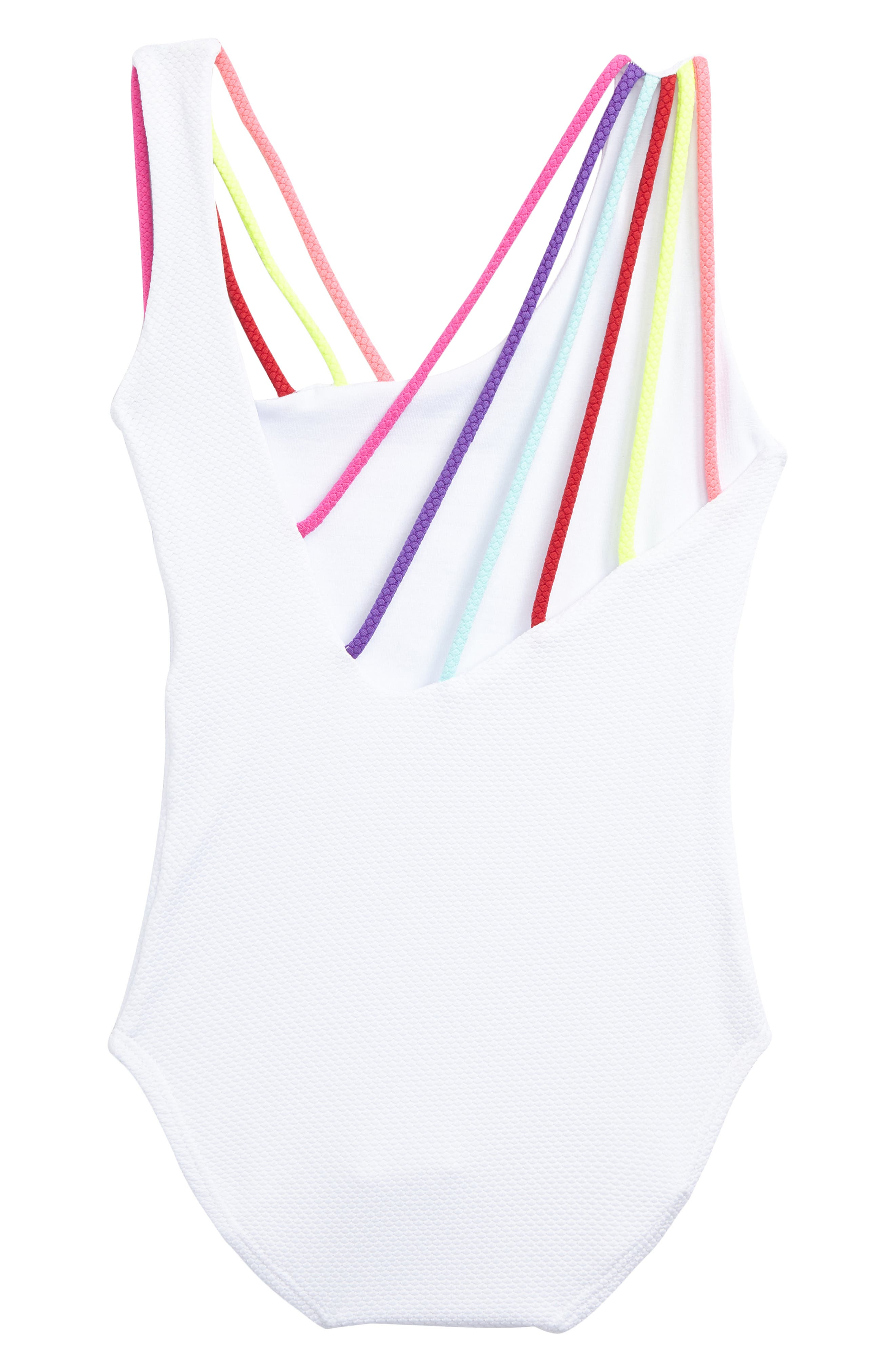 Alternate Image 2  - Little Peixoto Olivia One-Piece Swimsuit (Toddler Girls & Little Girls)