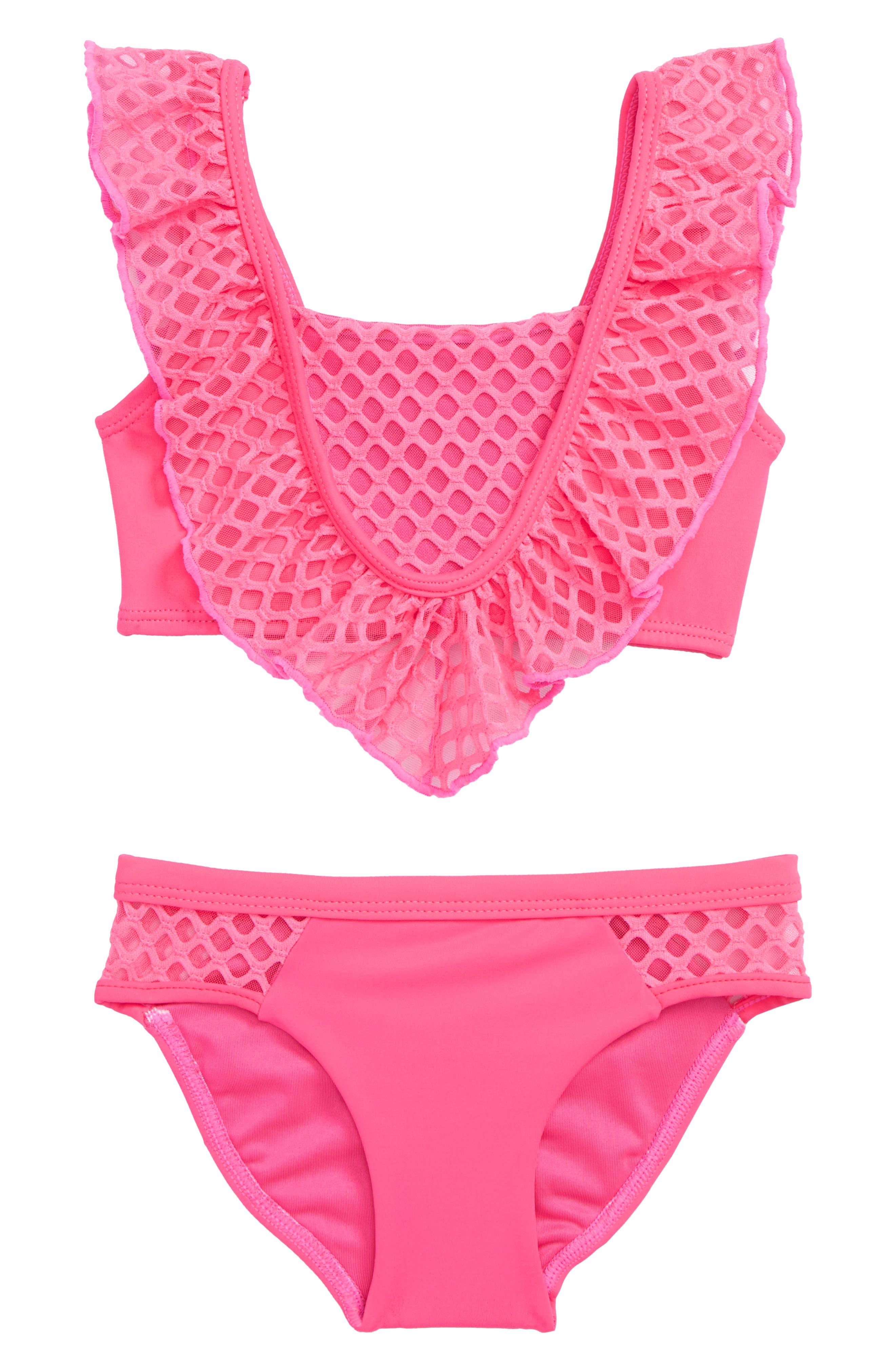 Little Peixoto Blake Ruffle Two-Piece Swimsuit (Toddler Girls & Little Girls)