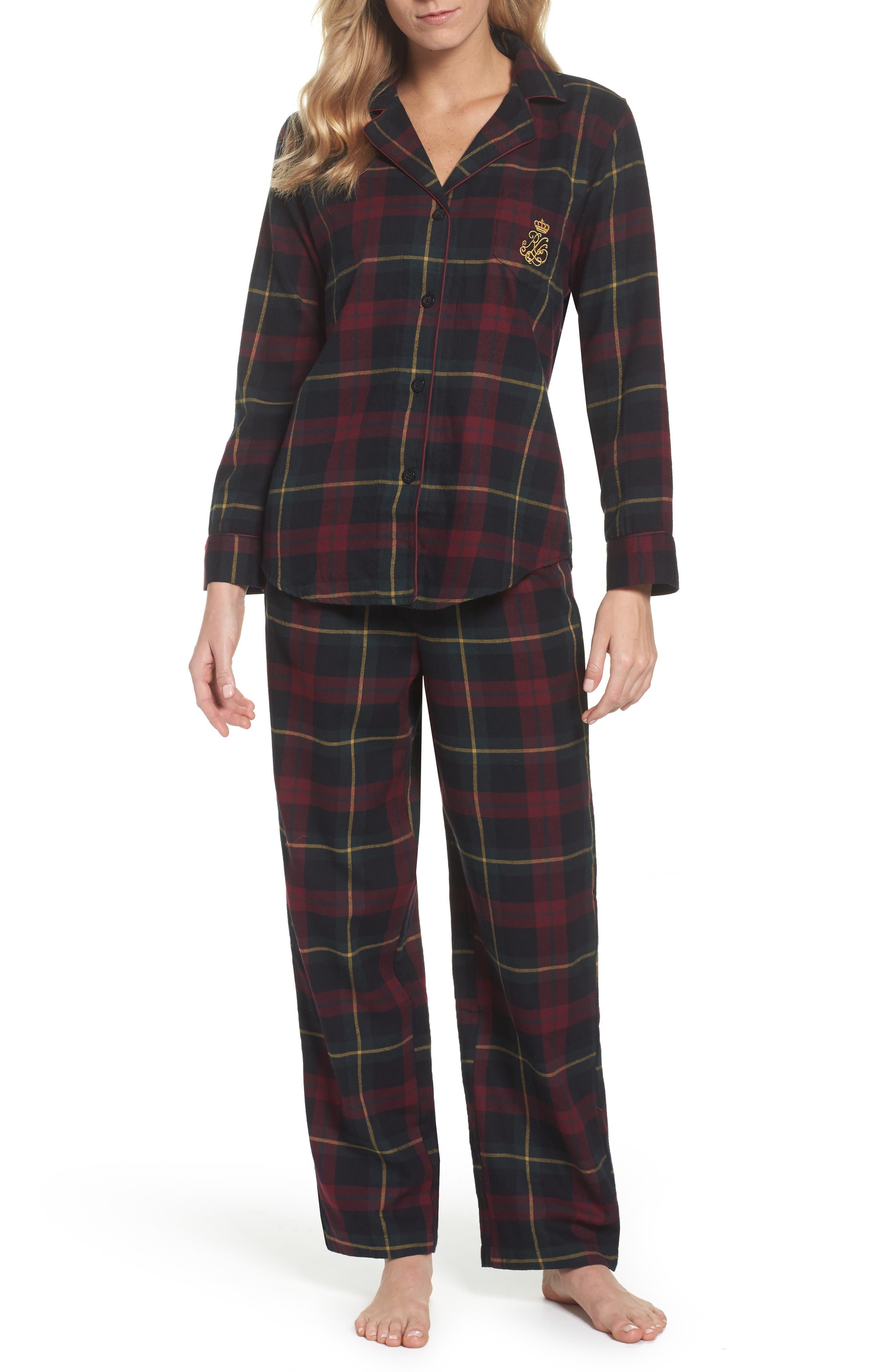 Lauren Ralph Lauren Cotton Pajamas