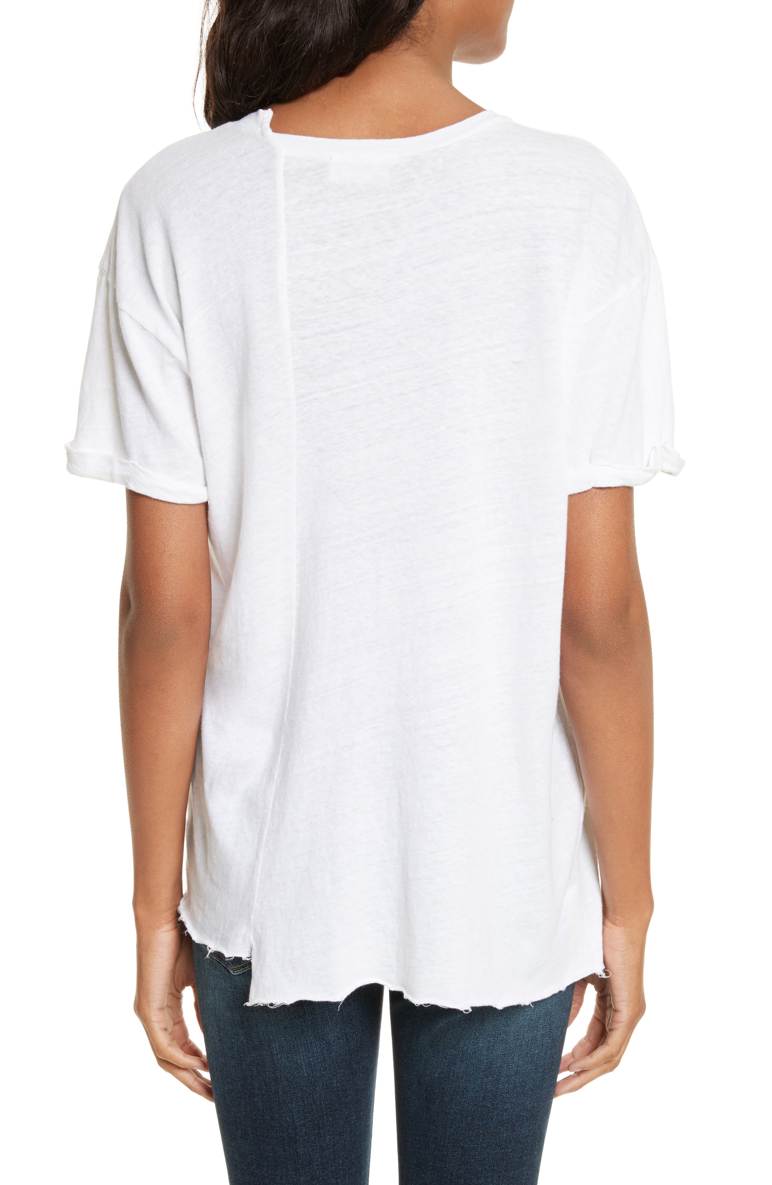 Le Mix Tee,                             Alternate thumbnail 2, color,                             Vintage Blanc