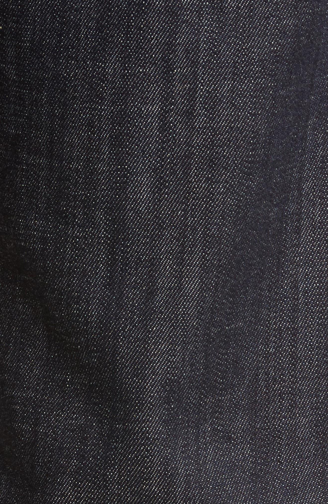 Classic Straight Leg Jeans,                             Alternate thumbnail 5, color,                             Dakota