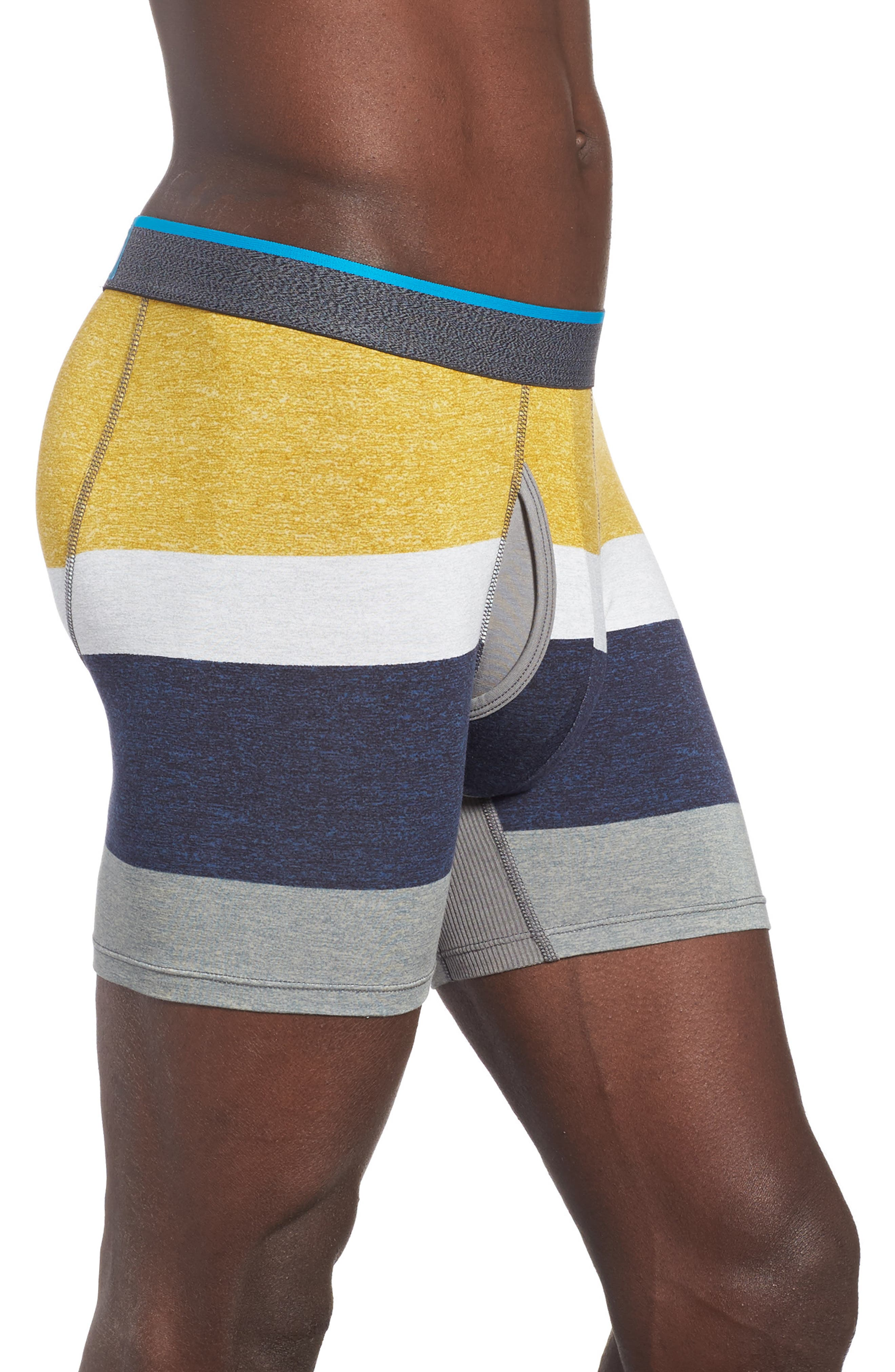 Norm Colorblock Boxer Briefs,                             Alternate thumbnail 3, color,                             Medium Grey
