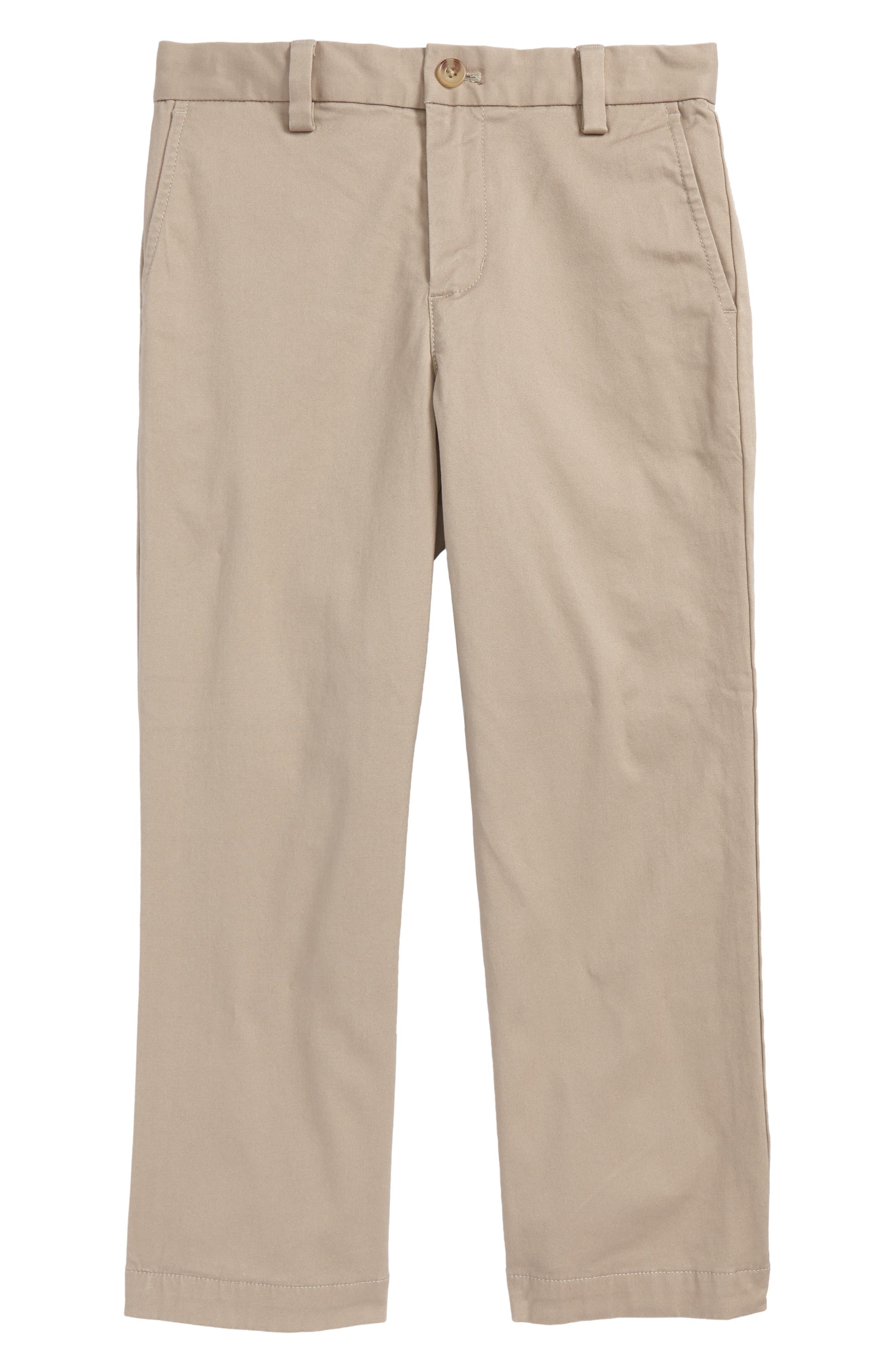 Main Image - vineyard vines Breaker Flannel Lined Pants (Toddler Boys & Little Boys)
